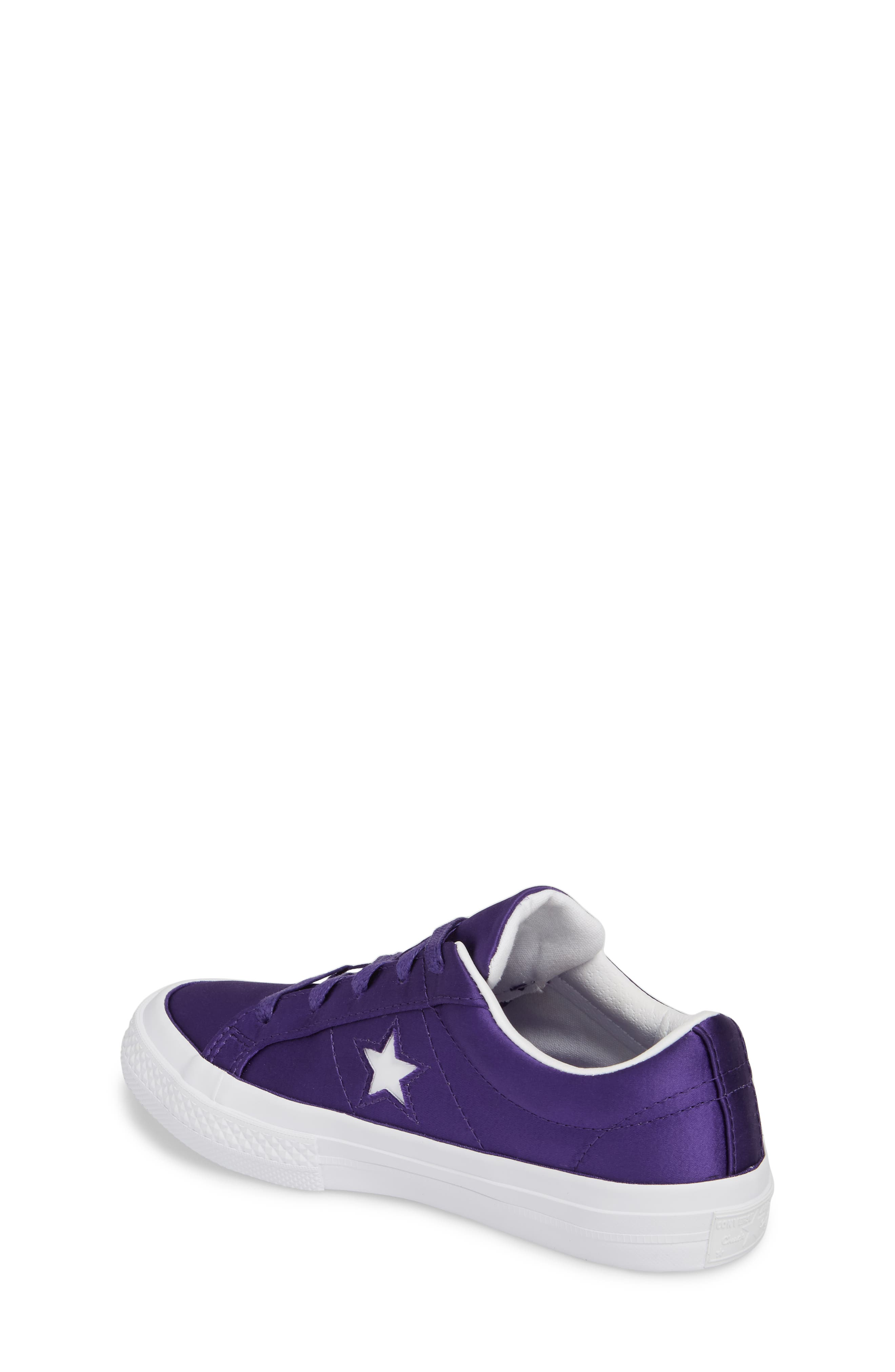 Chuck Taylor<sup>®</sup> All Star<sup>®</sup> One Star Satin Low Top Sneaker,                             Alternate thumbnail 2, color,                             510