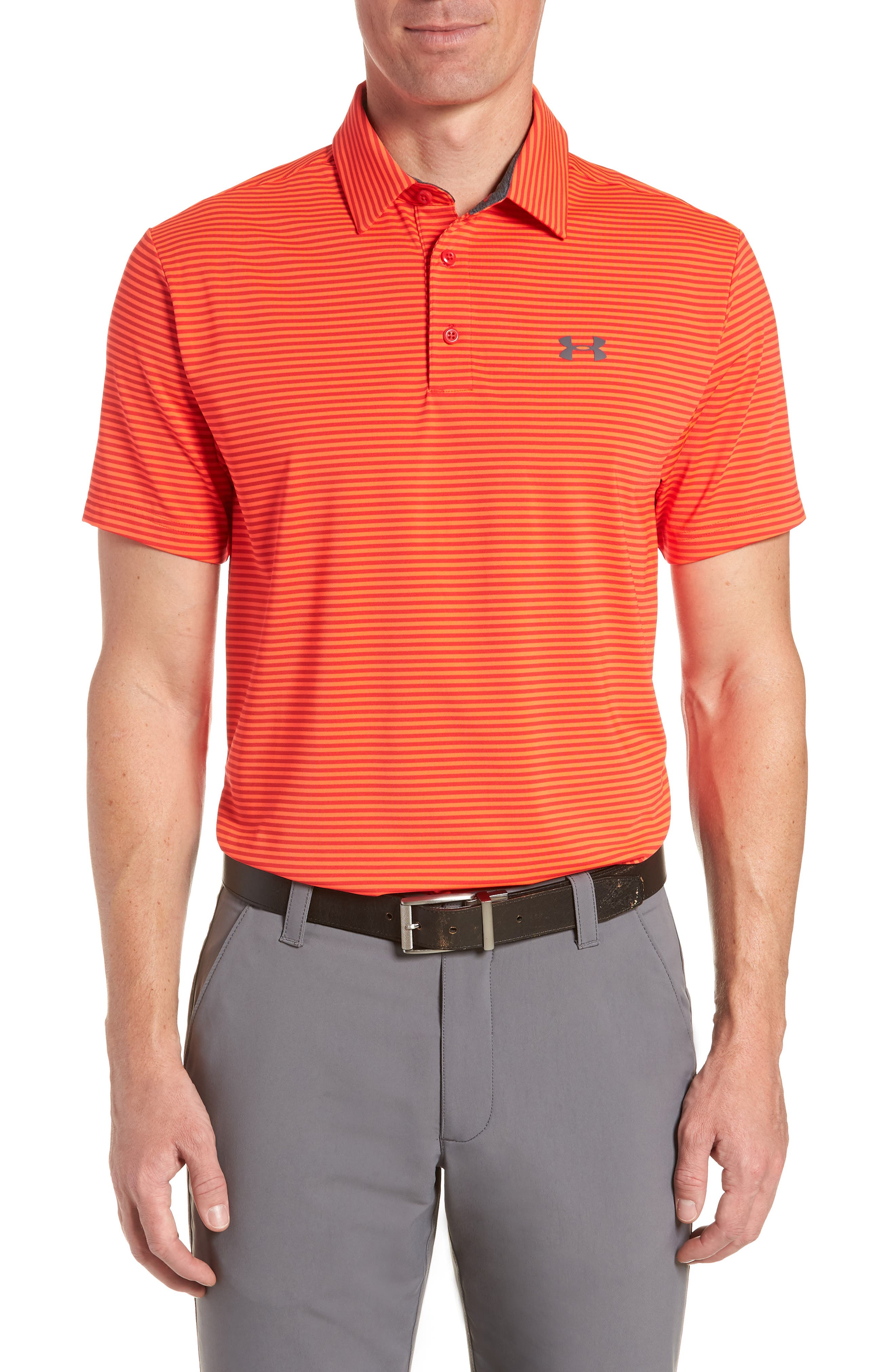 'Playoff' Loose Fit Short Sleeve Polo,                             Main thumbnail 8, color,