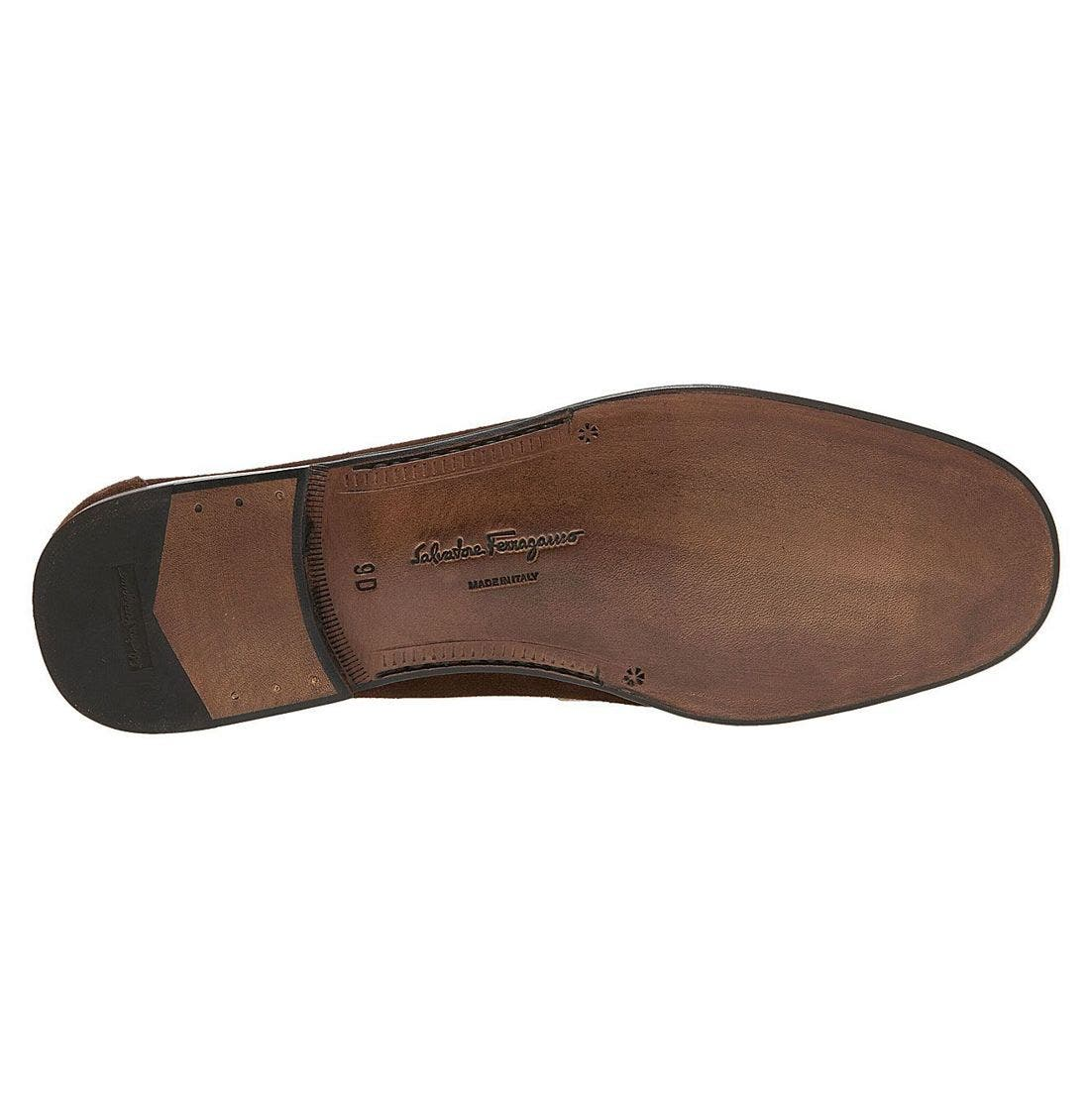SALVATORE FERRAGAMO,                             'Cancun' Loafer,                             Alternate thumbnail 4, color,                             HKS