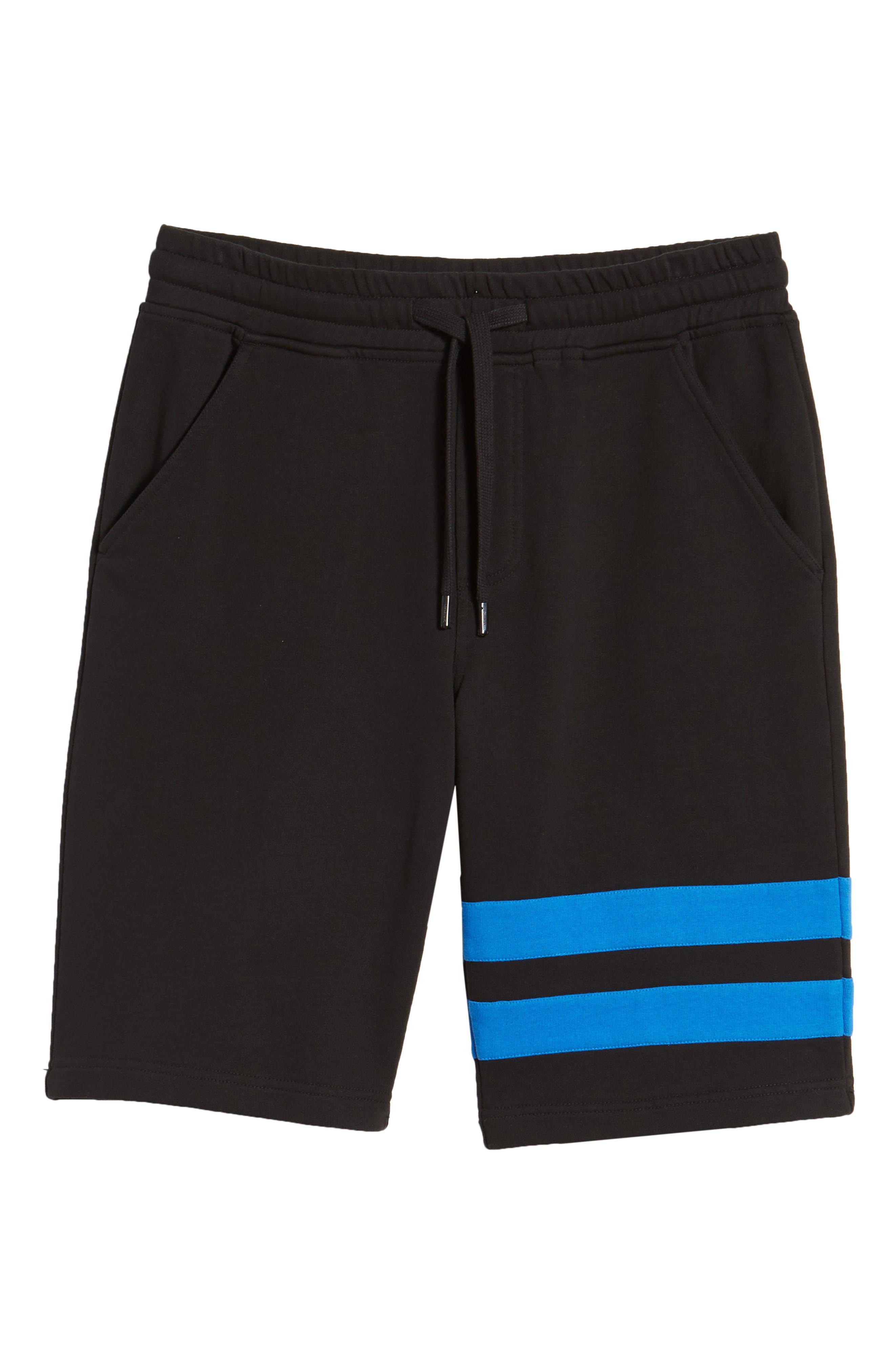 Stripe Athletic Shorts,                             Alternate thumbnail 6, color,                             010