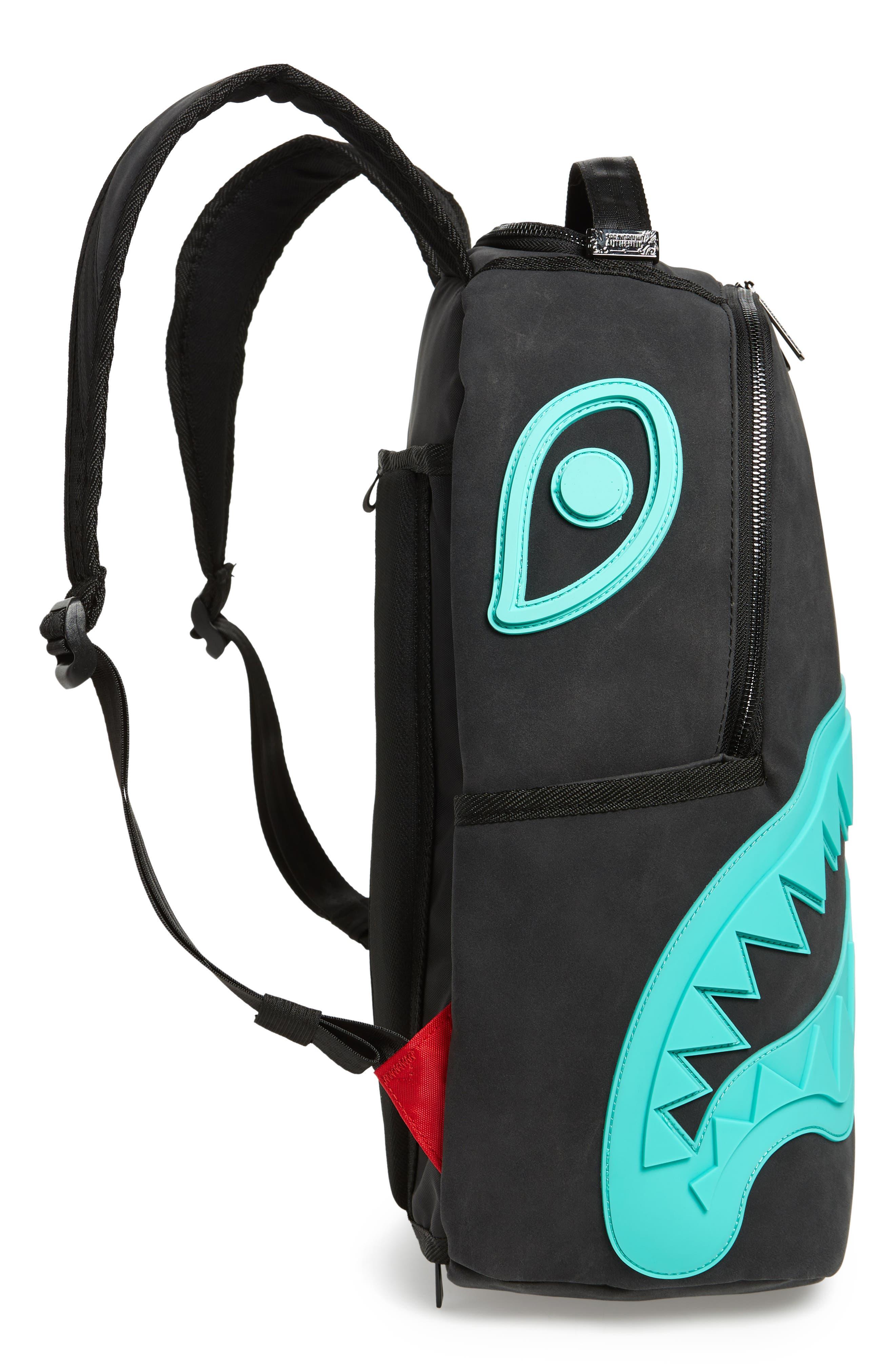 Tiff Shark Backpack,                             Alternate thumbnail 5, color,
