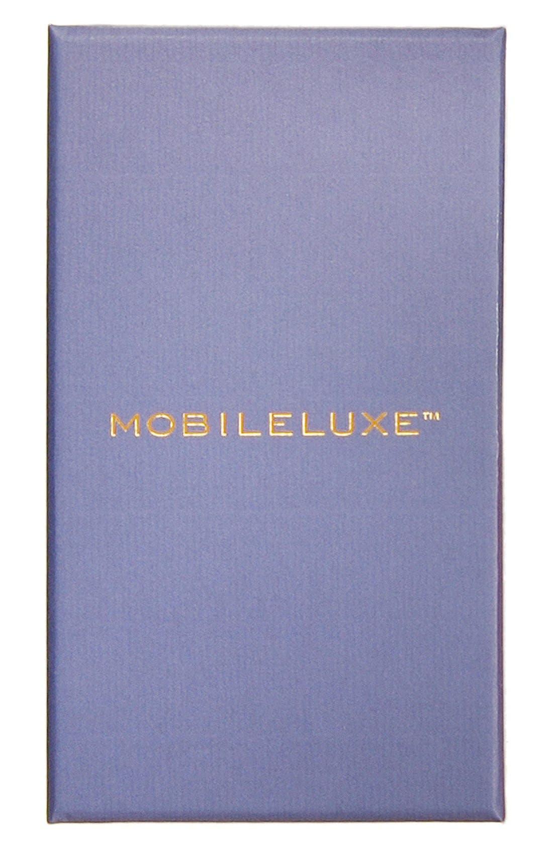 iPhone 6 Plus/6s Plus Metallic Leather Wallet Case,                             Alternate thumbnail 5, color,                             040