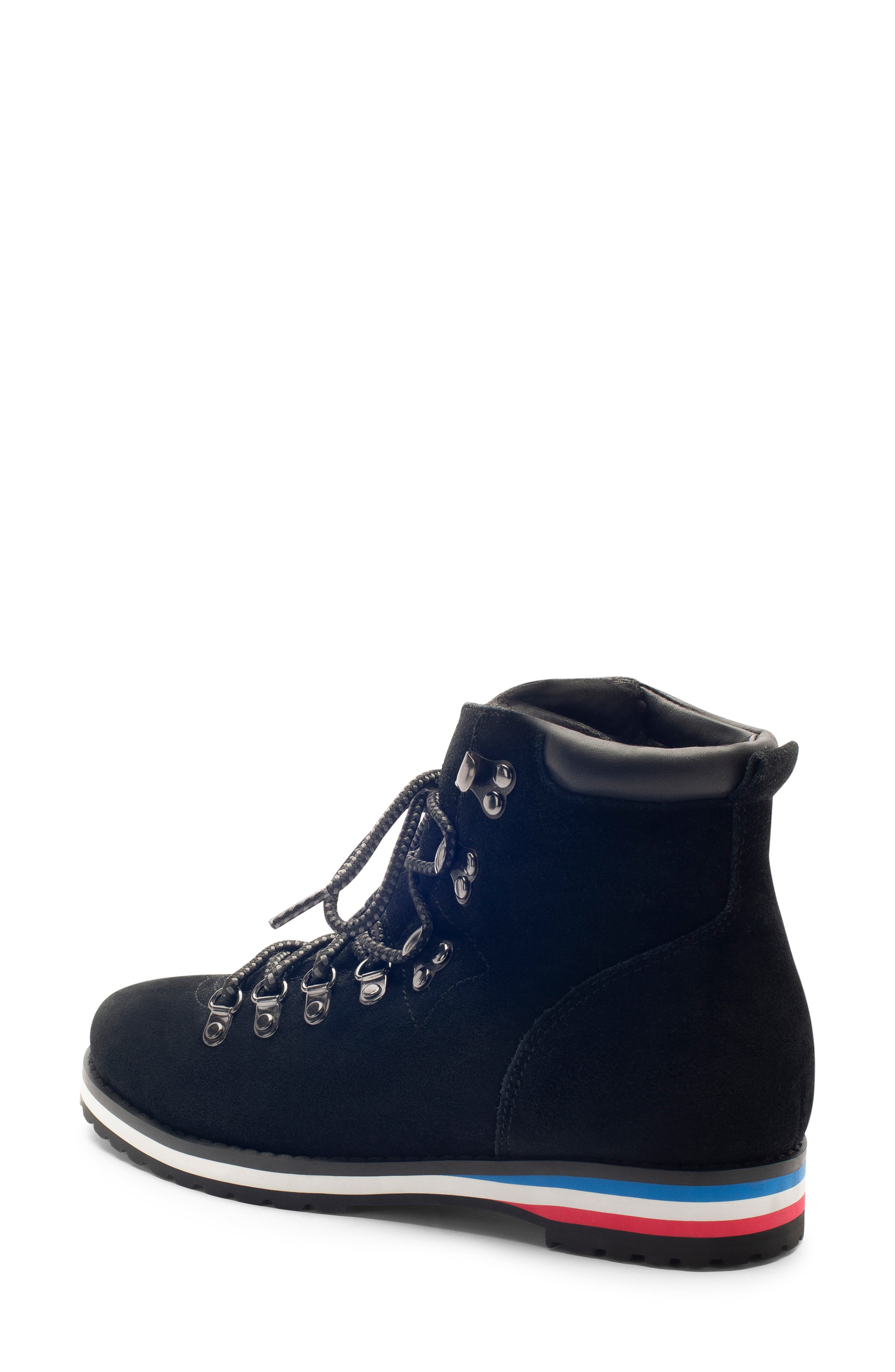 BLONDO,                             Regan Waterproof Boot,                             Alternate thumbnail 2, color,                             BLACK SUEDE