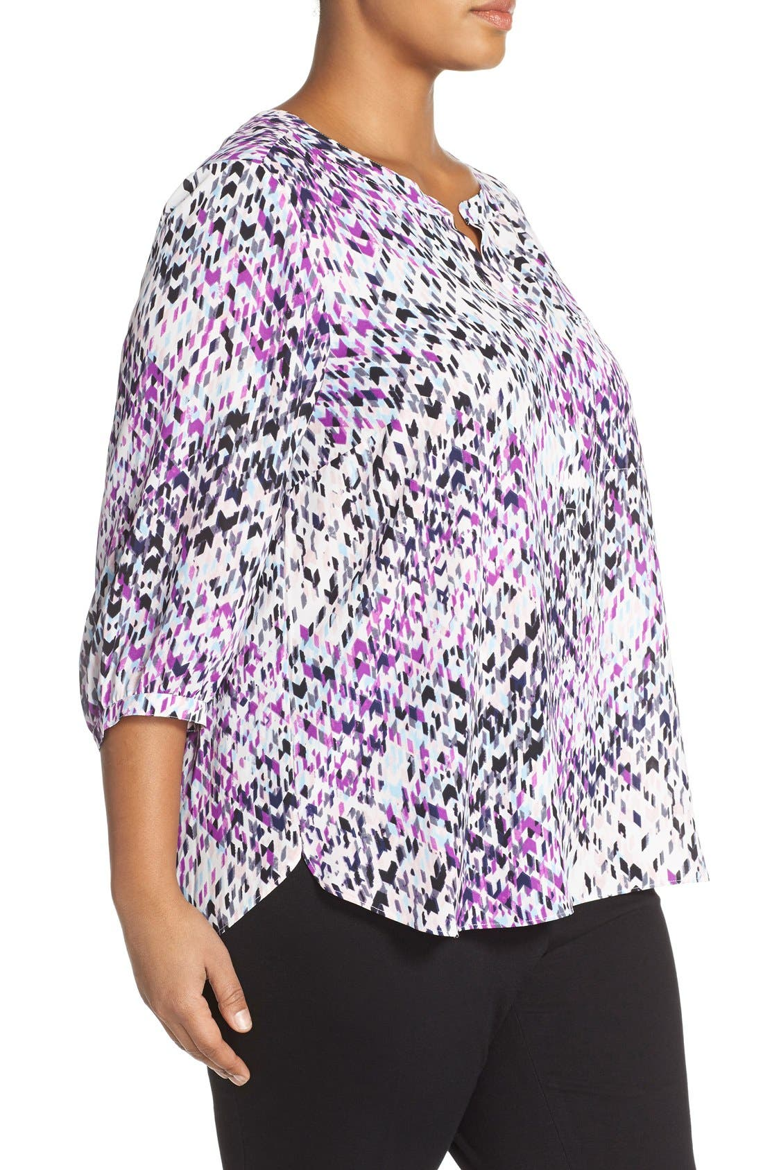 Henley Top,                             Alternate thumbnail 380, color,