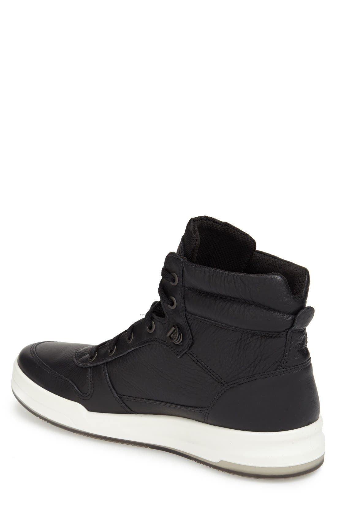 'Jack' High Top Sneaker,                             Alternate thumbnail 2, color,                             001
