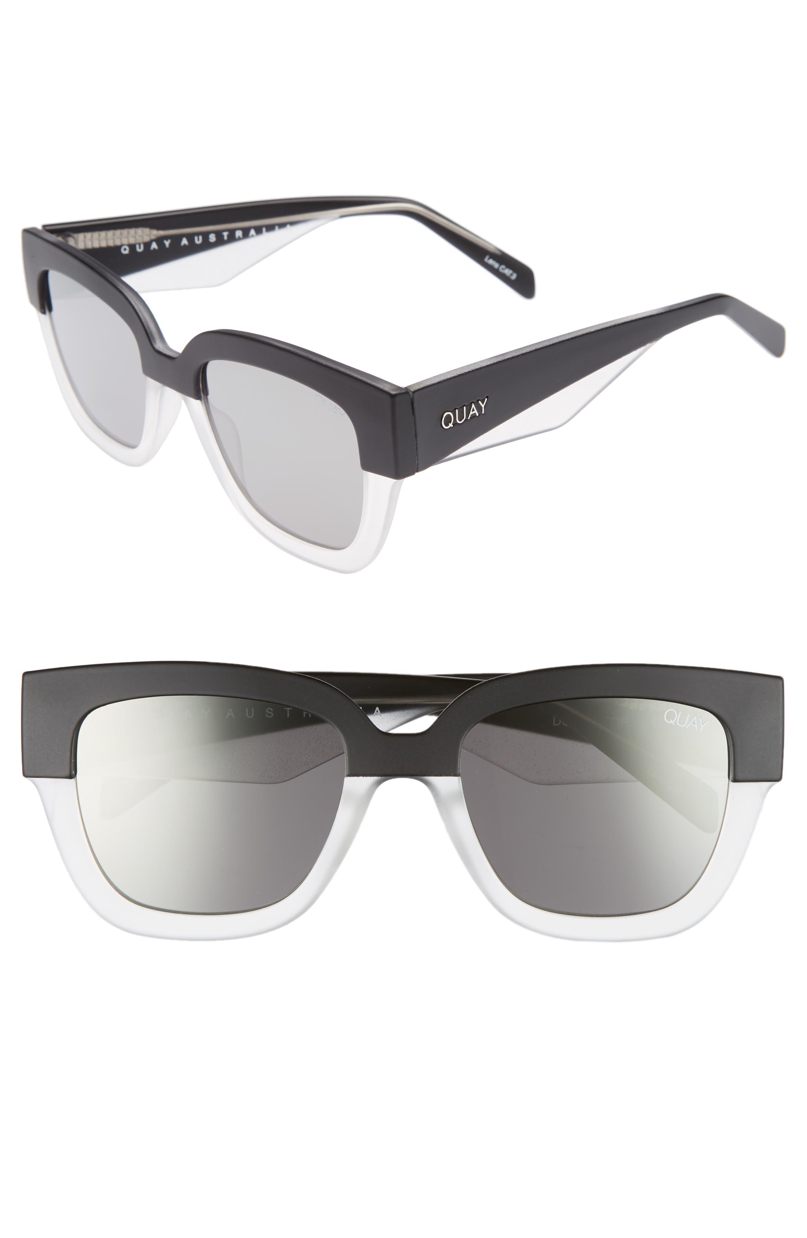 55mm Don't Stop Sunglasses,                             Main thumbnail 1, color,