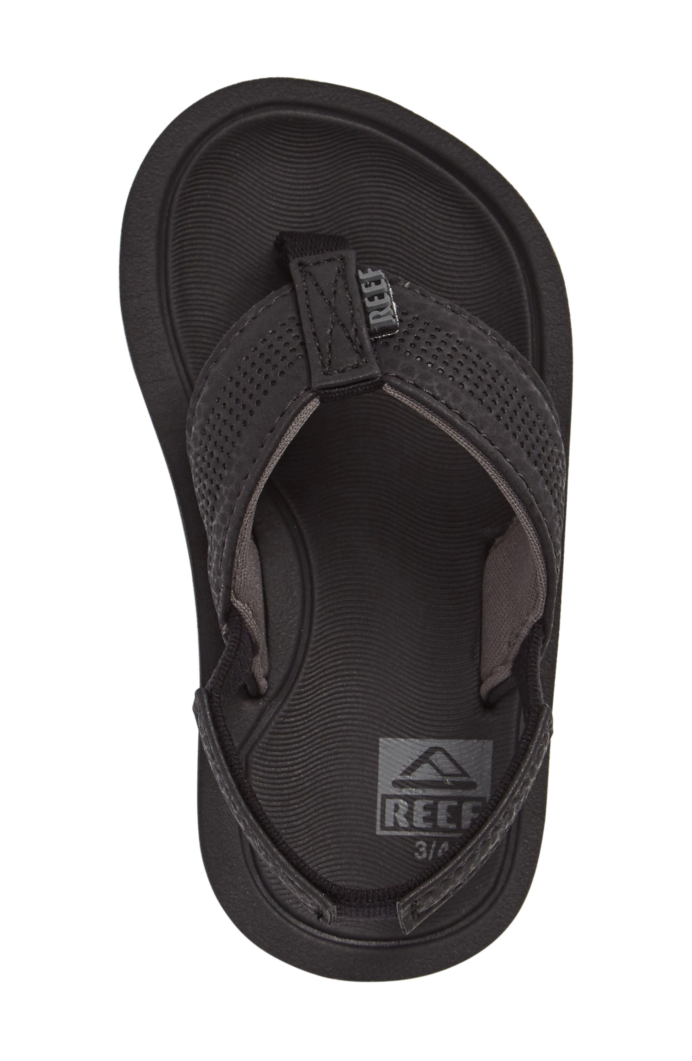 Grom Splash Sandal,                             Alternate thumbnail 3, color,                             001