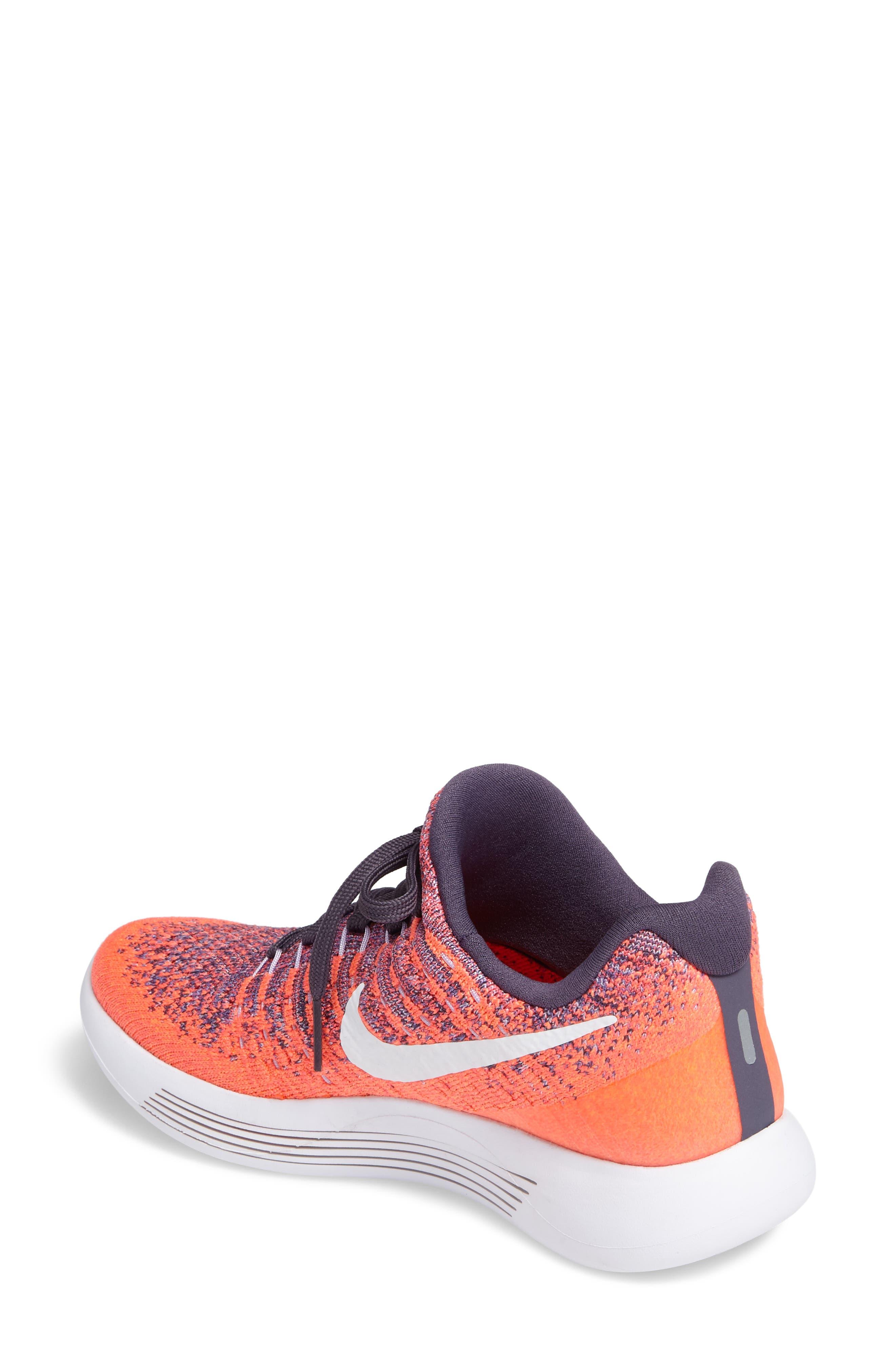 LunarEpic Low Flyknit 2 Running Shoe,                             Alternate thumbnail 41, color,