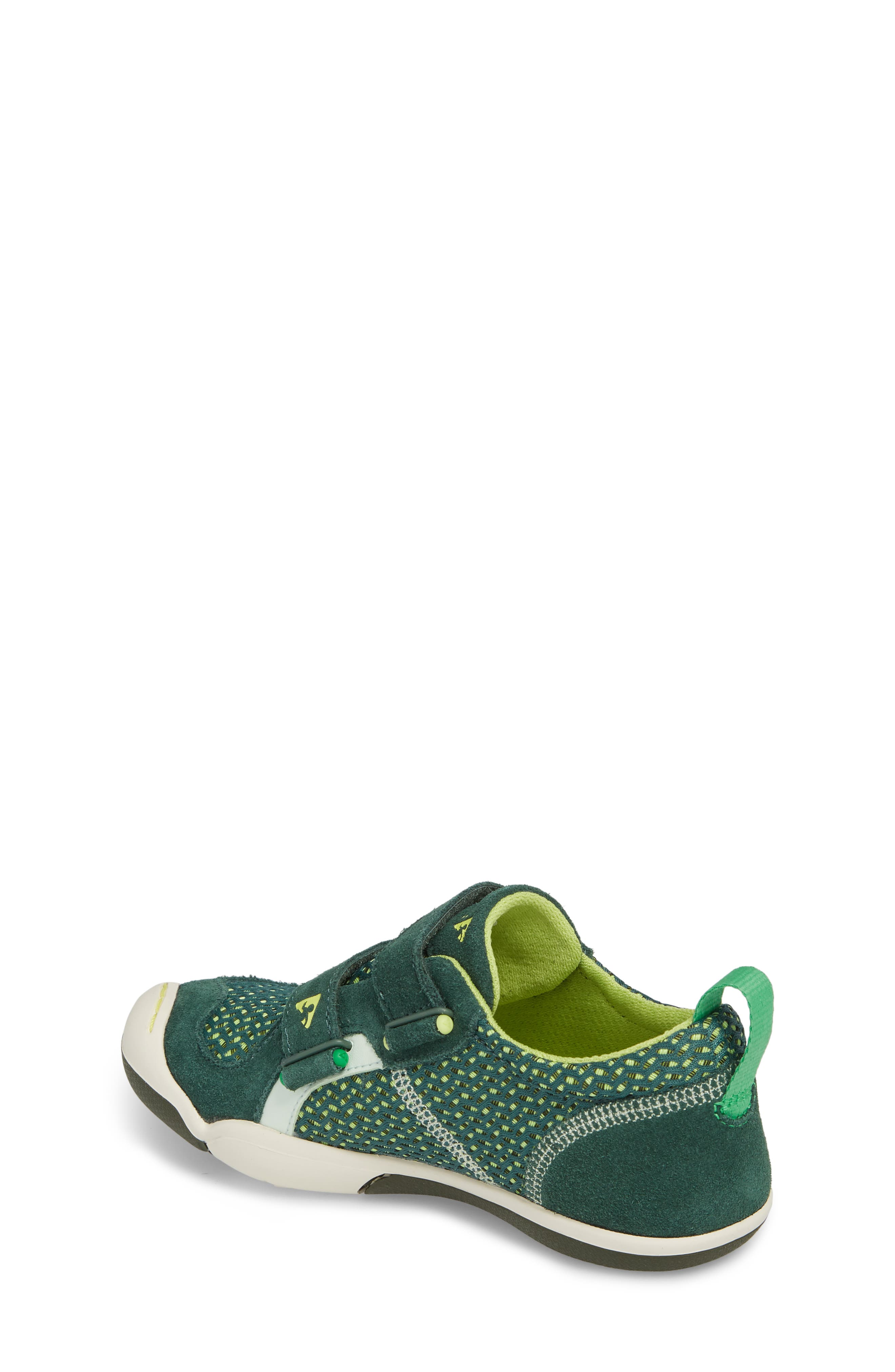 Ty Customizable Sneaker,                             Alternate thumbnail 2, color,                             AMAZON GREEN