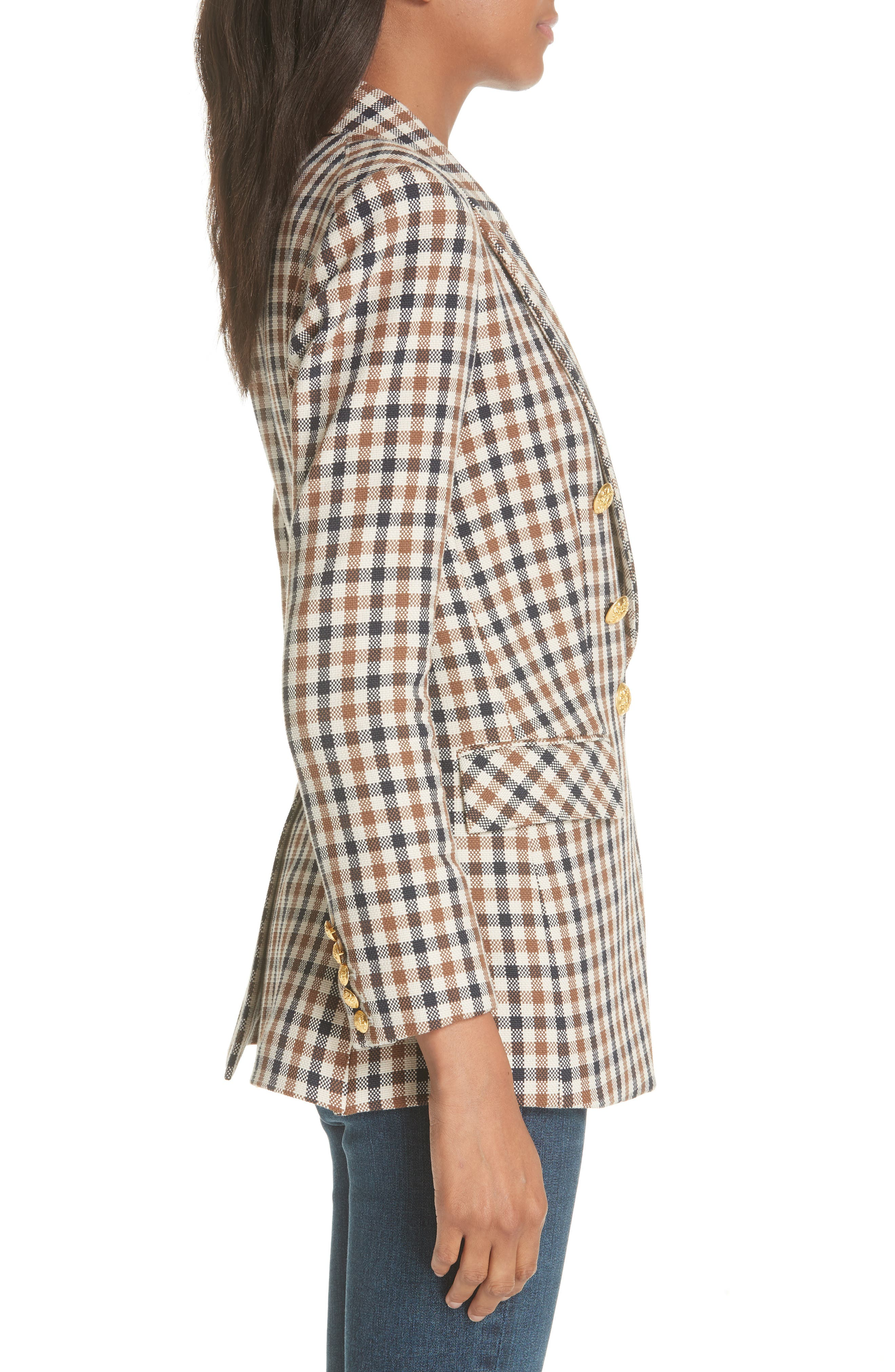 Lonny Houndstooth Dickey Jacket,                             Alternate thumbnail 3, color,                             241