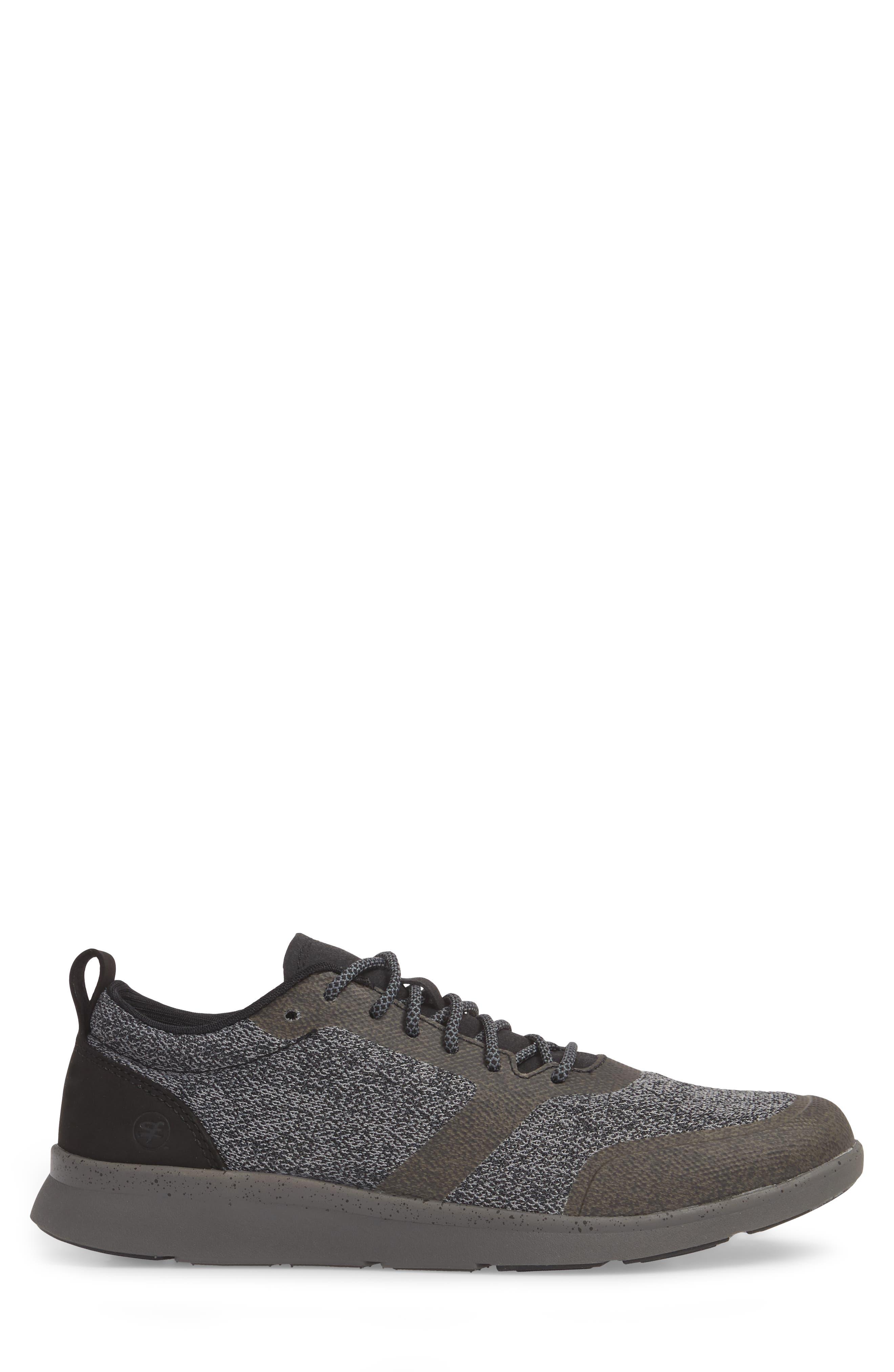 Worldwide Stuart MX Sneaker,                             Alternate thumbnail 3, color,                             BLACK