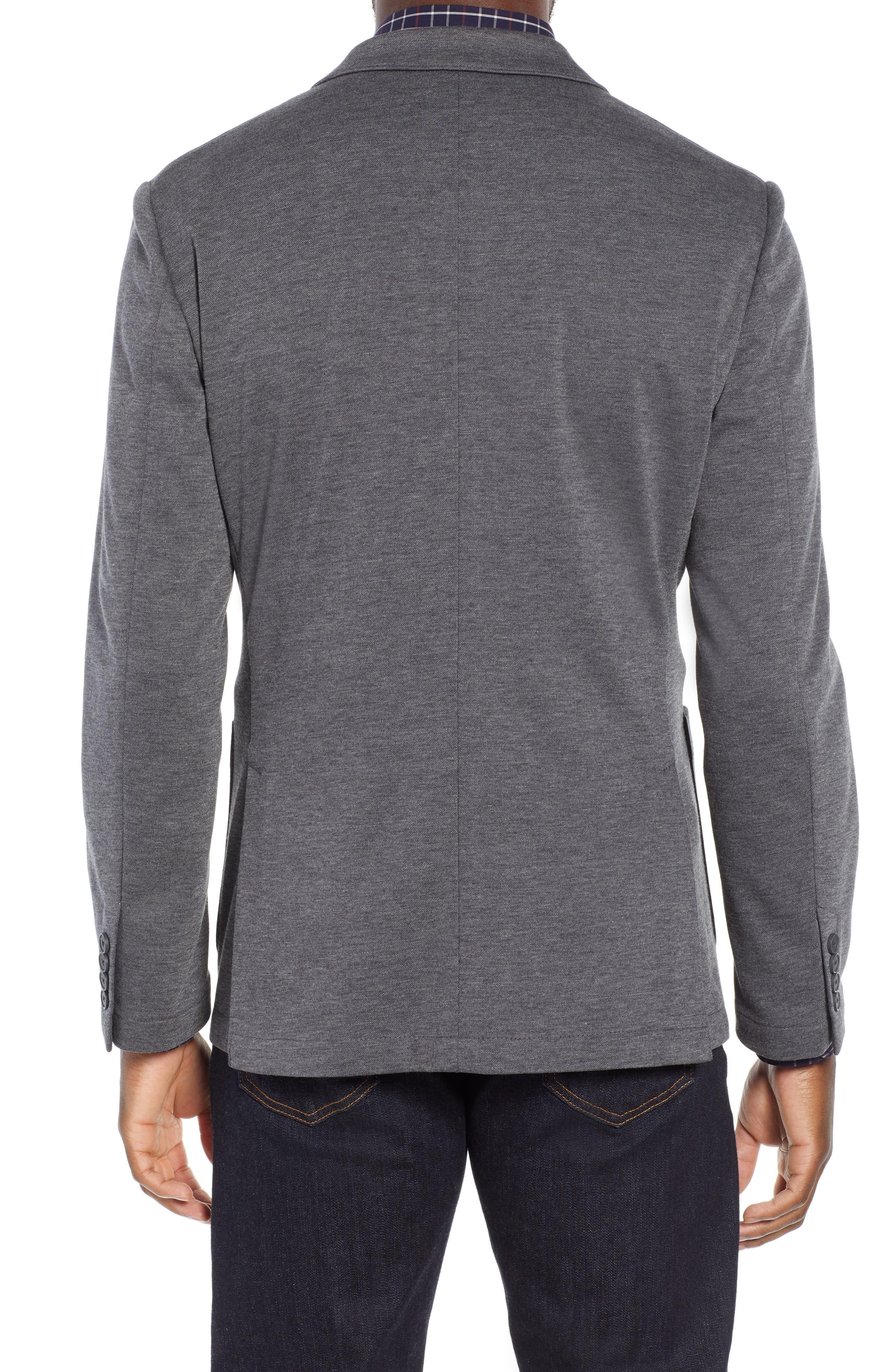 NORDSTROM MEN'S SHOP,                             Trim Fit Stretch Comfort Sport Coat,                             Alternate thumbnail 2, color,                             020