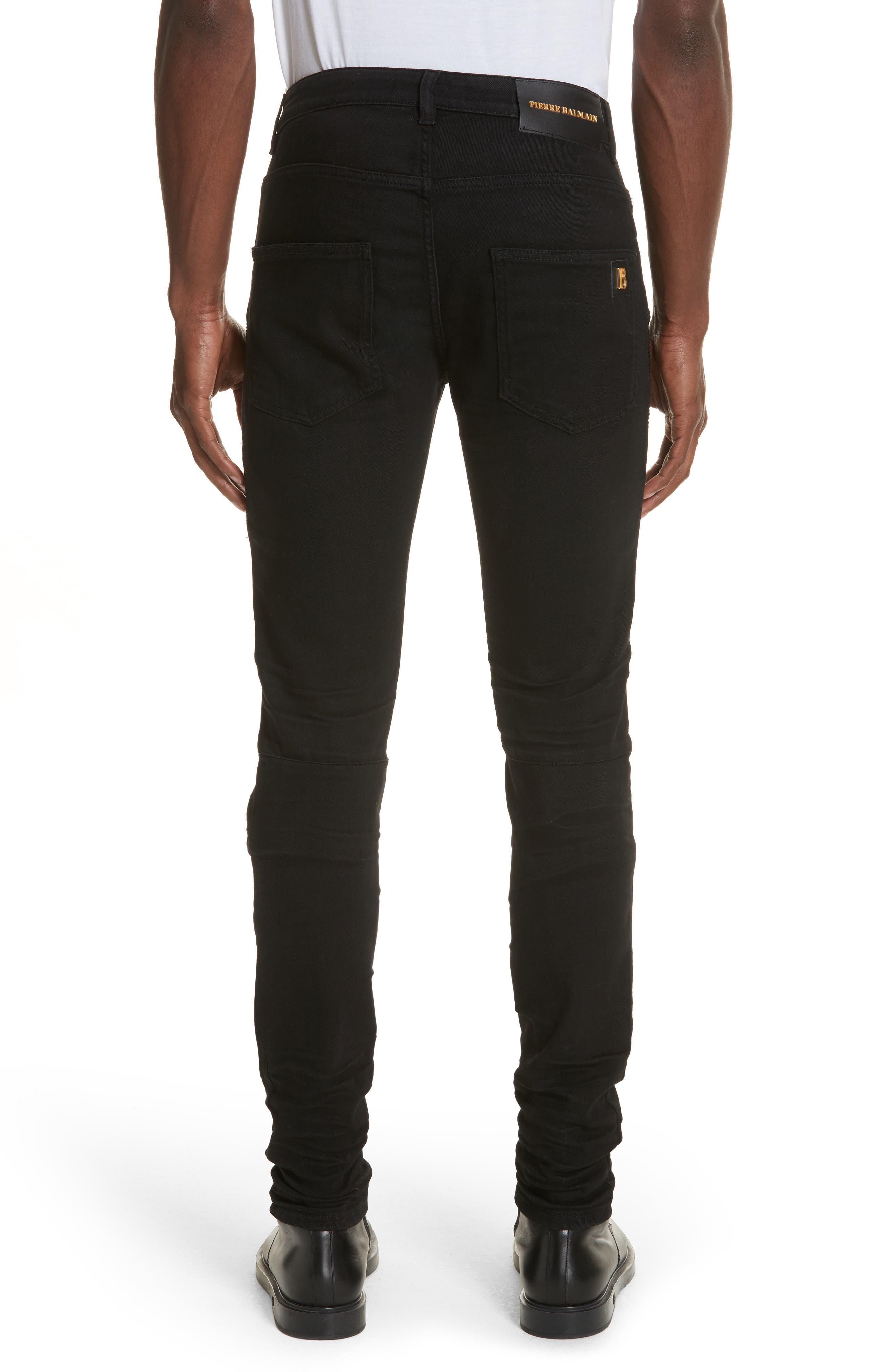 Moto Jeans,                             Alternate thumbnail 2, color,                             001