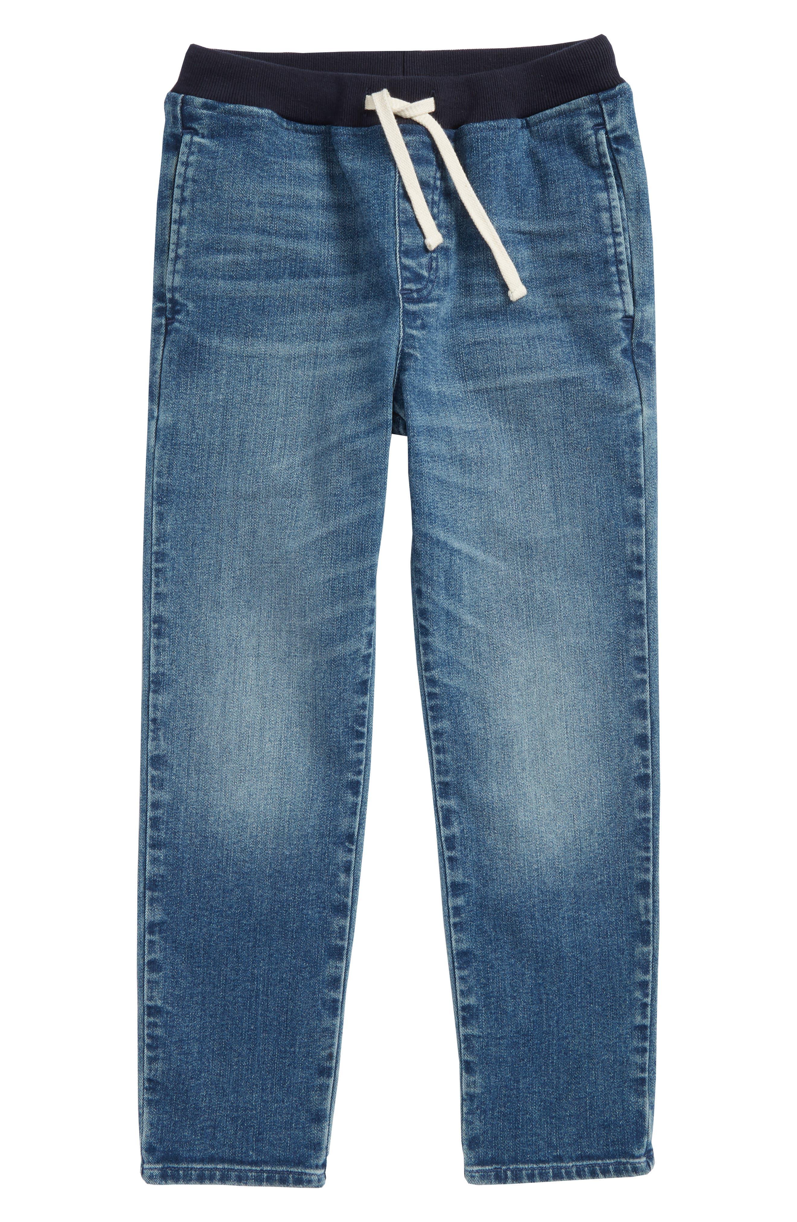 Pull-On Denim Pants,                             Main thumbnail 1, color,                             400