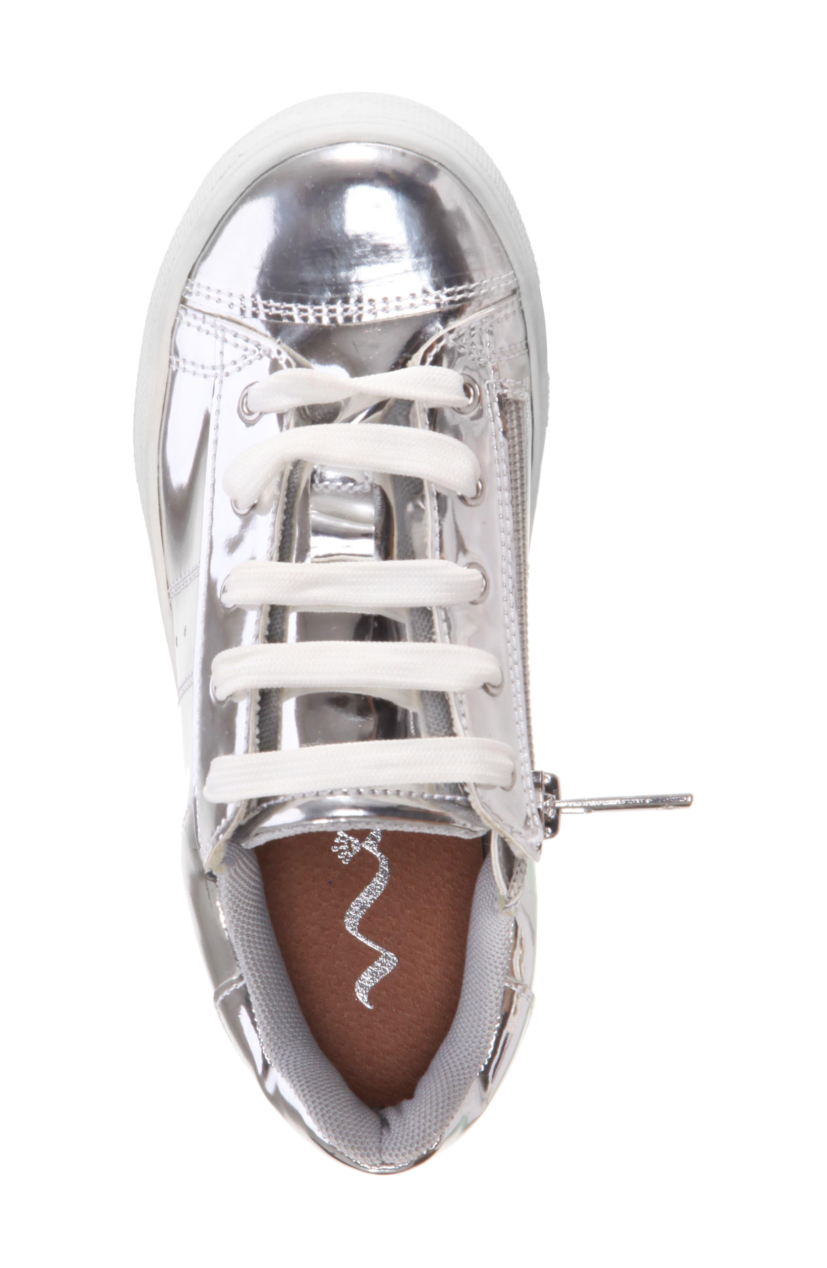 Rochella Metallic Sneaker,                             Alternate thumbnail 5, color,                             048