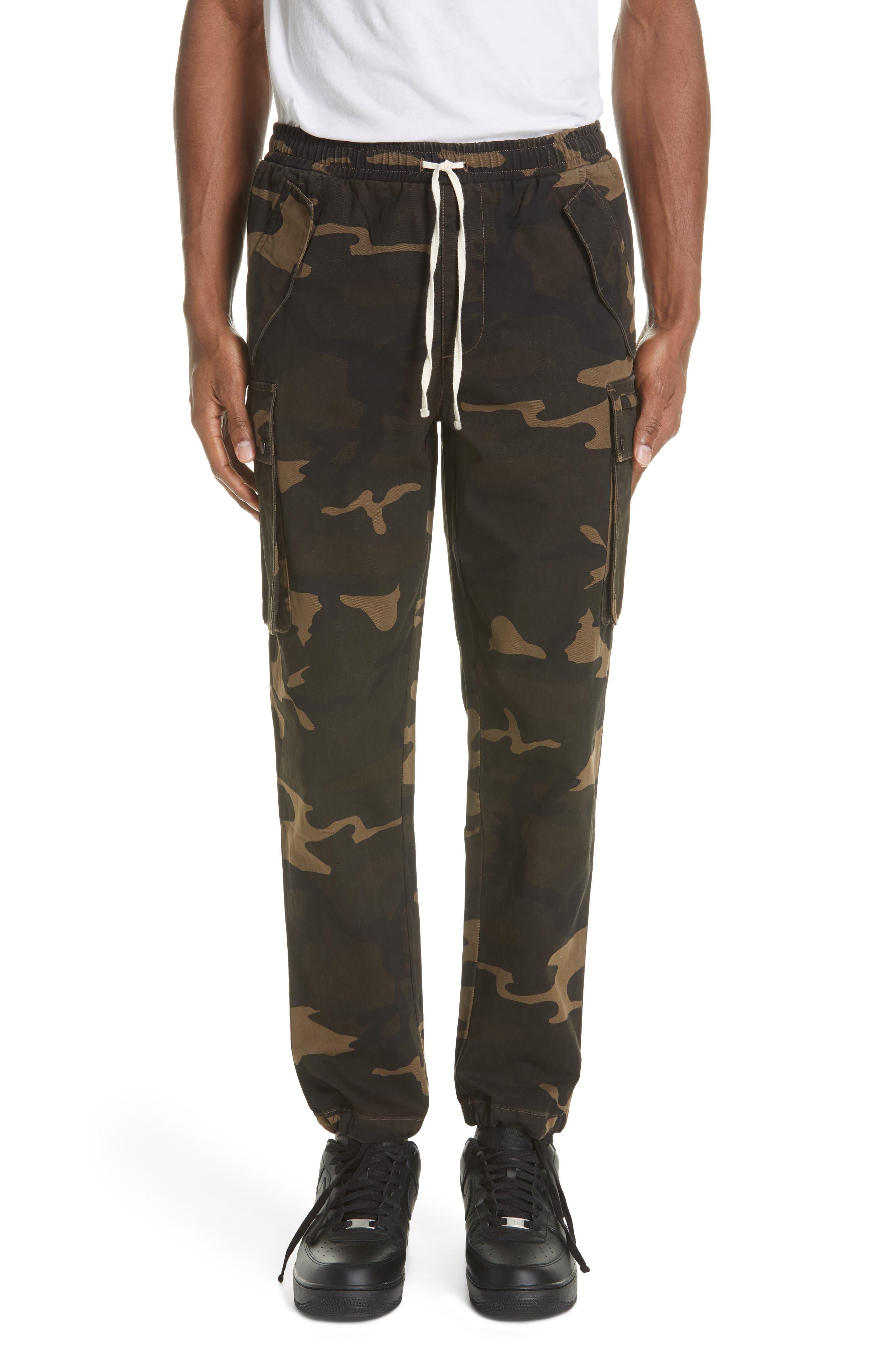 Ovadia & Sons Camo Cargo Pants, Green