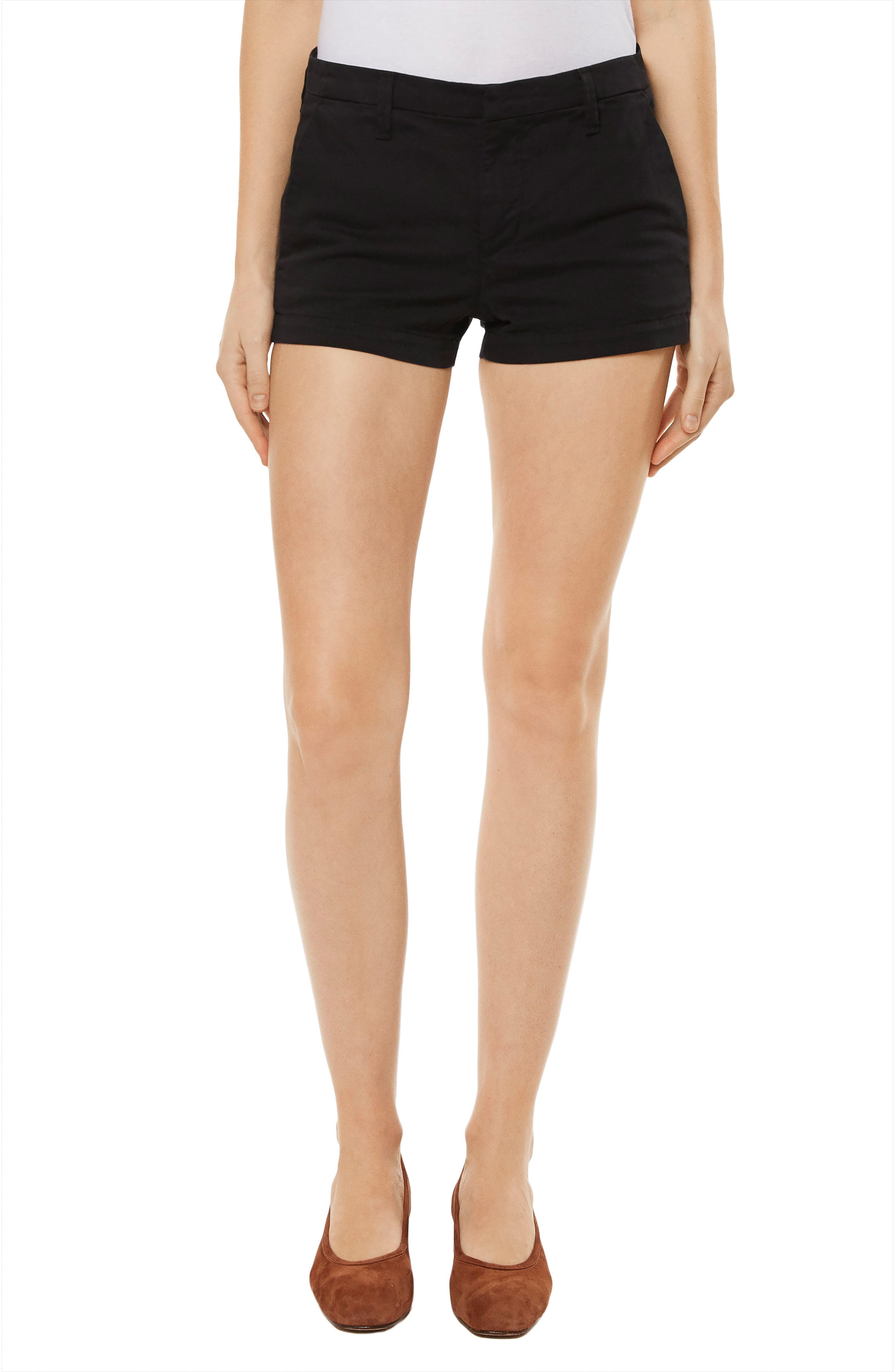 Clara Twill Shorts,                         Main,                         color, 001