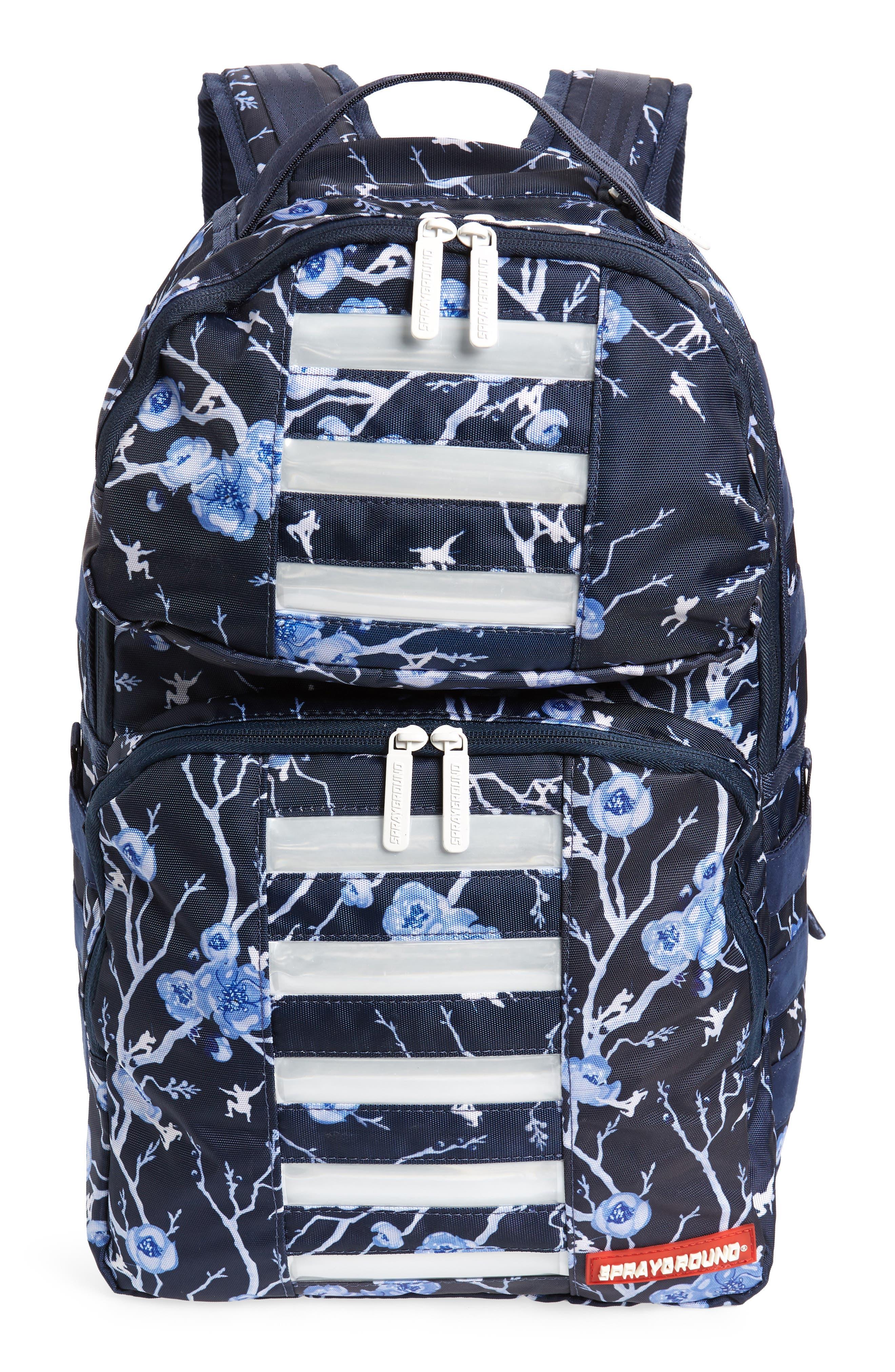 Cherry Blossom LED Backpack,                         Main,                         color, CHERRY BLOSSOM