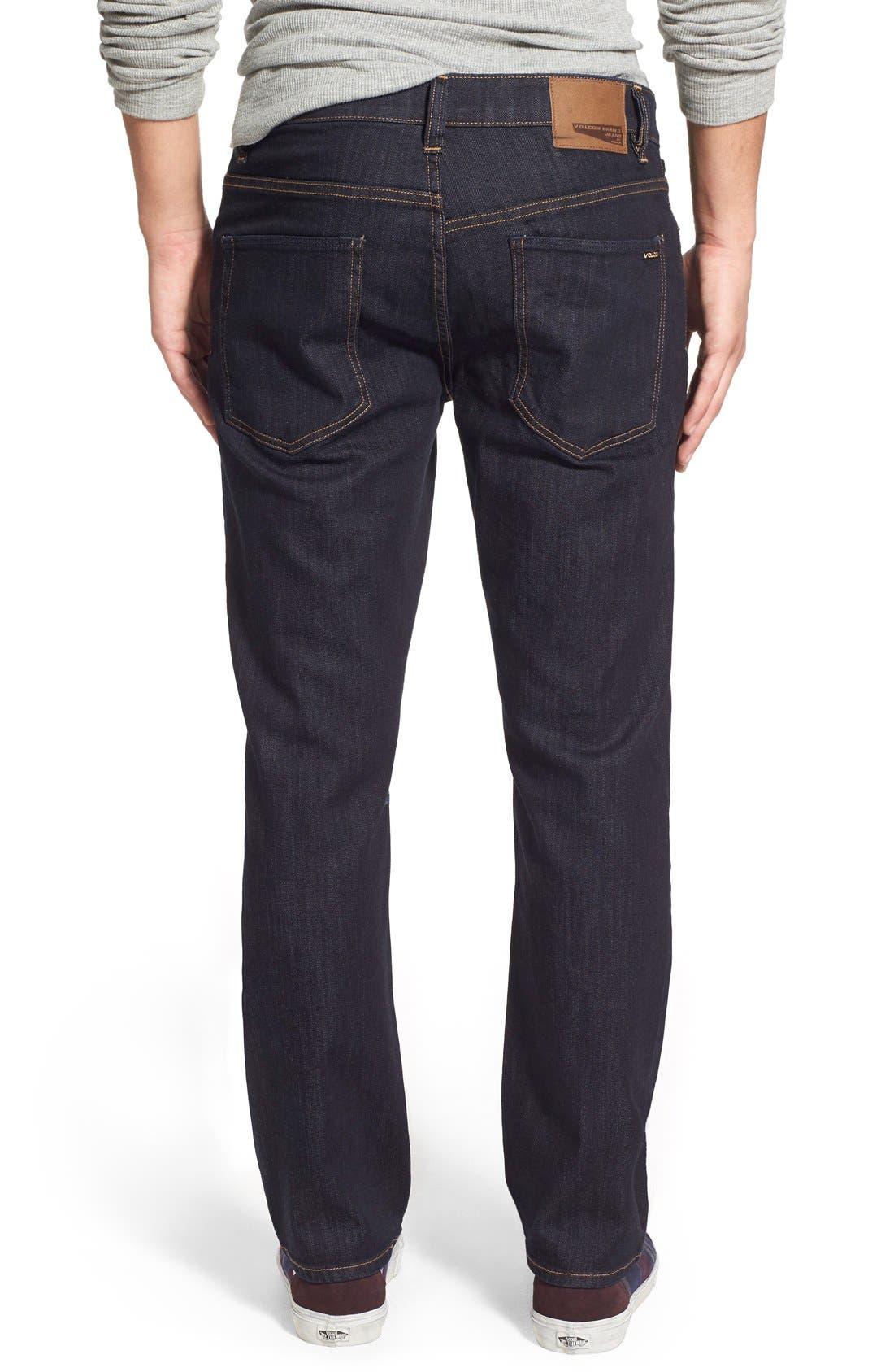 'Solver' Straight Leg Jeans,                             Alternate thumbnail 18, color,
