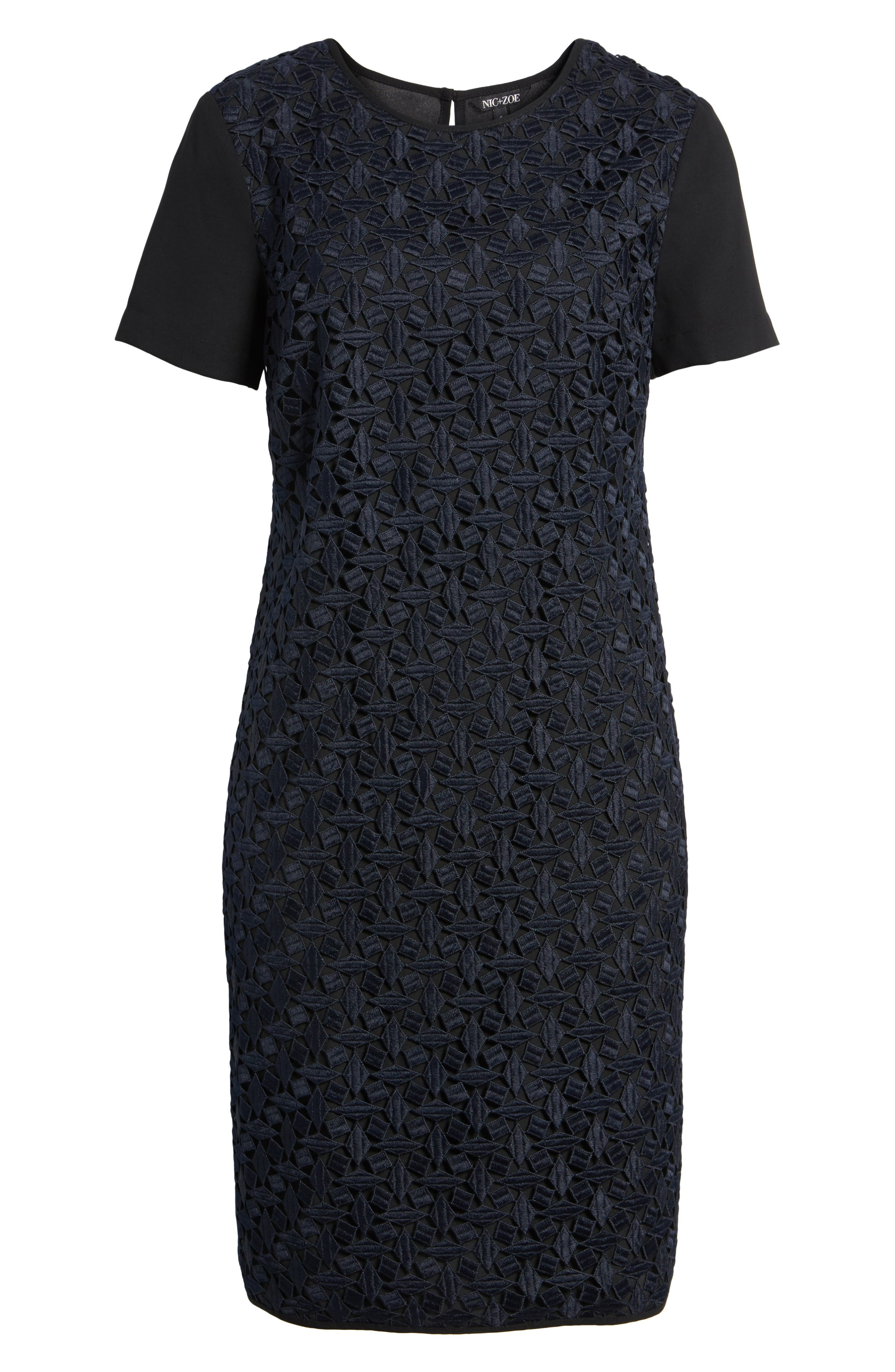 Night Out Shift Dress,                             Alternate thumbnail 6, color,                             403