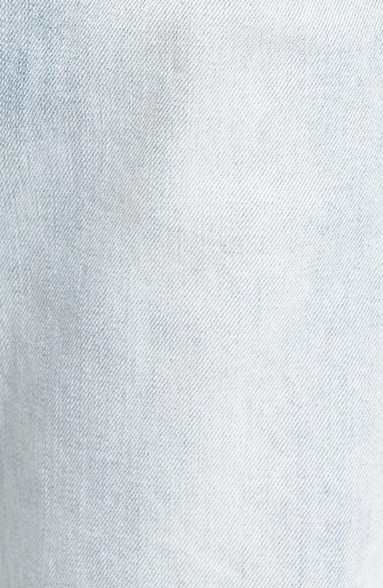 Sharpshot Slouchy Skinny Fit Denim Pants,                             Alternate thumbnail 10, color,