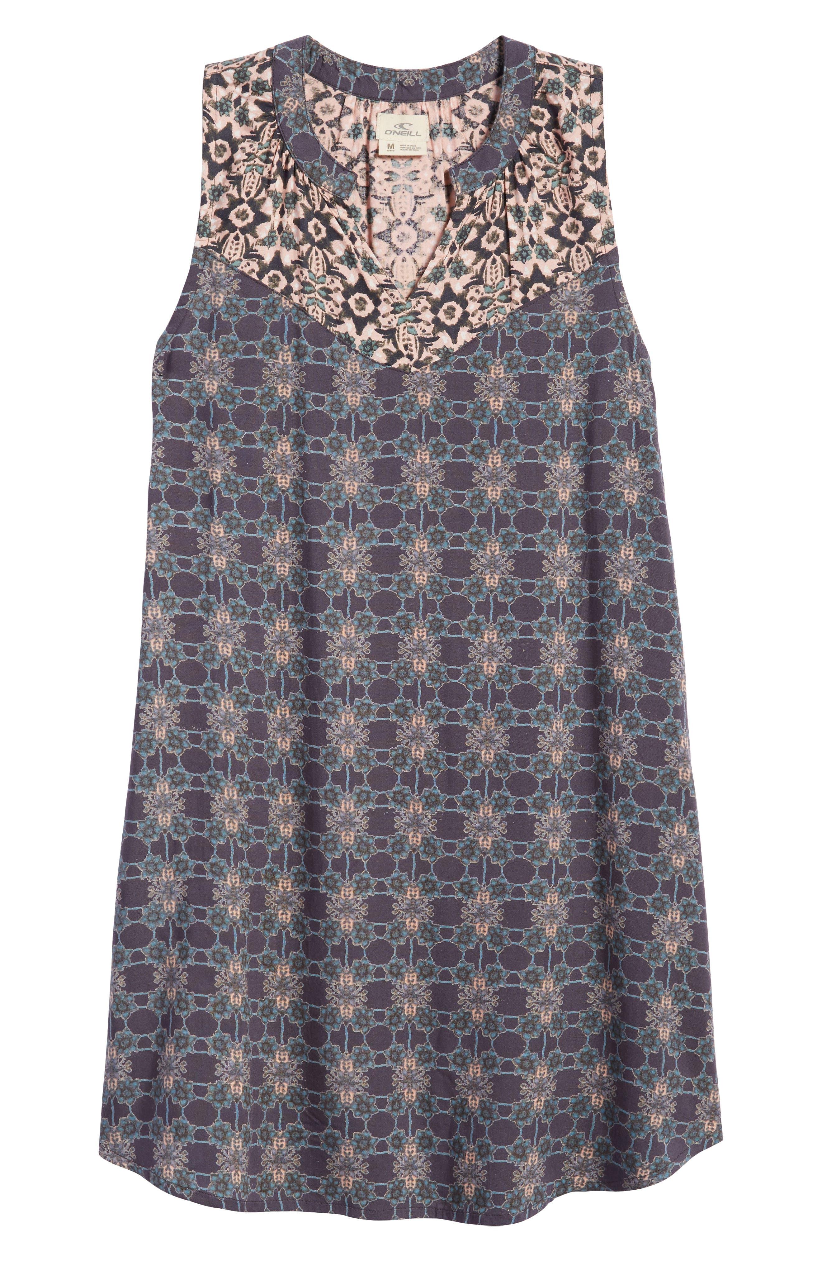 Gina Mixed Print Dress,                         Main,                         color, 021