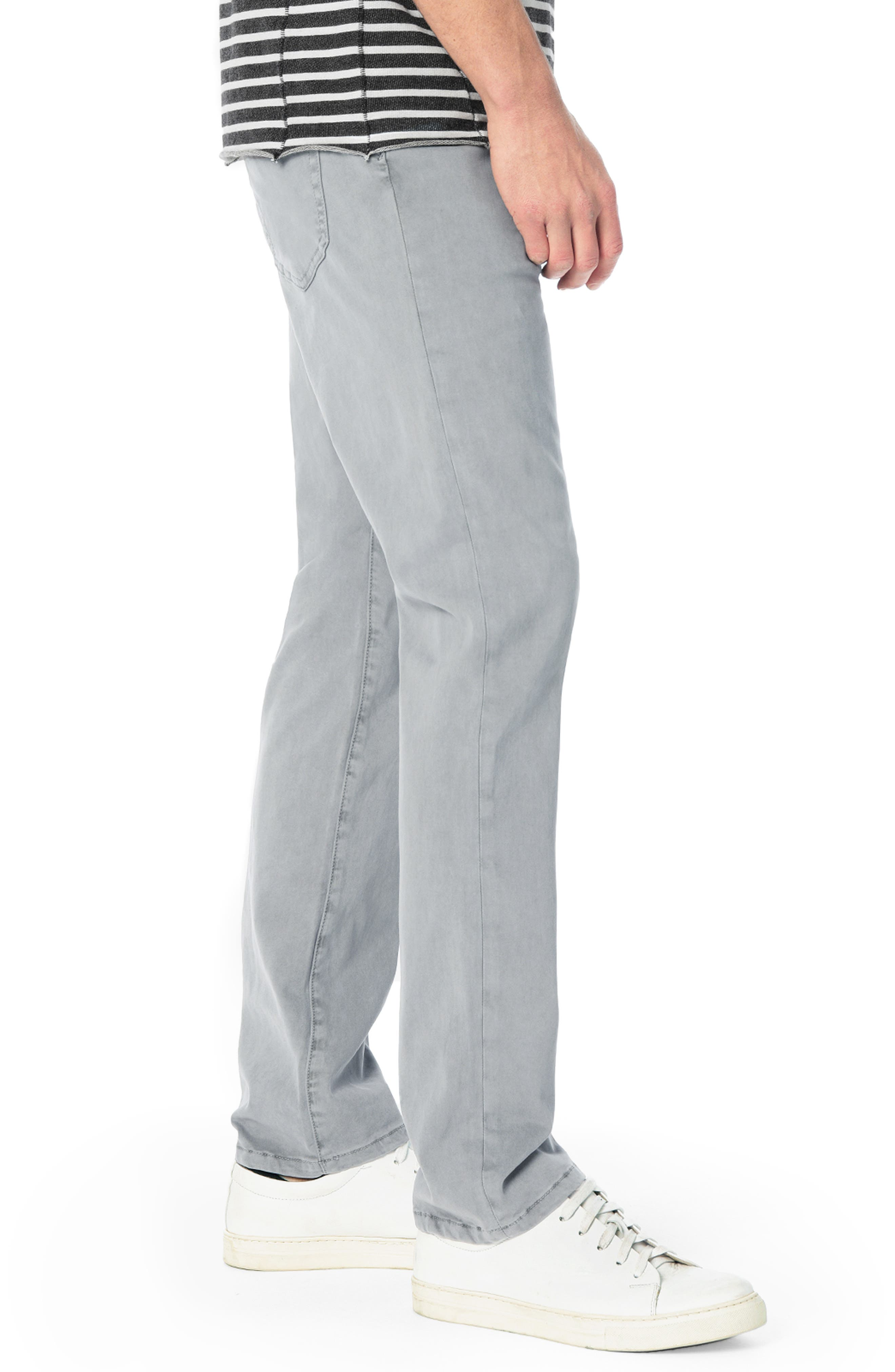 Brixton Slim Straight Chinos,                             Alternate thumbnail 3, color,                             FEATHER