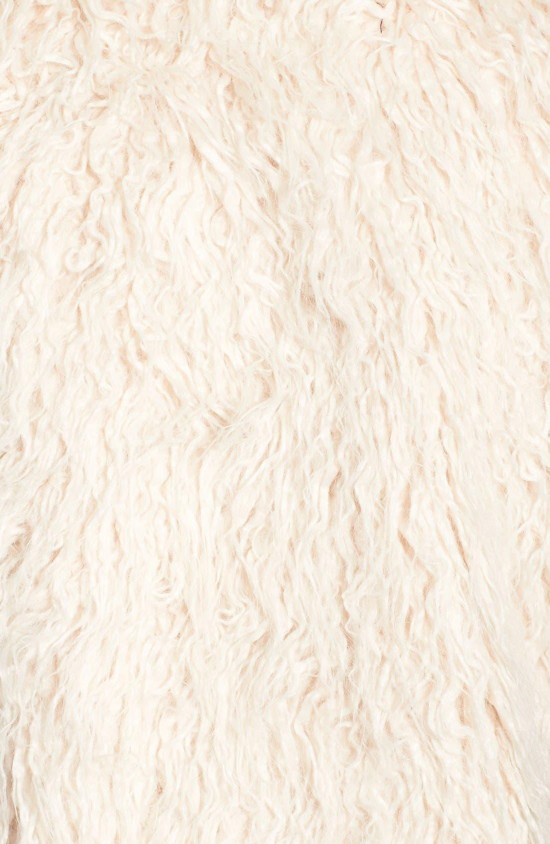 Shaggy Faux Fur Vest,                             Alternate thumbnail 3, color,                             299