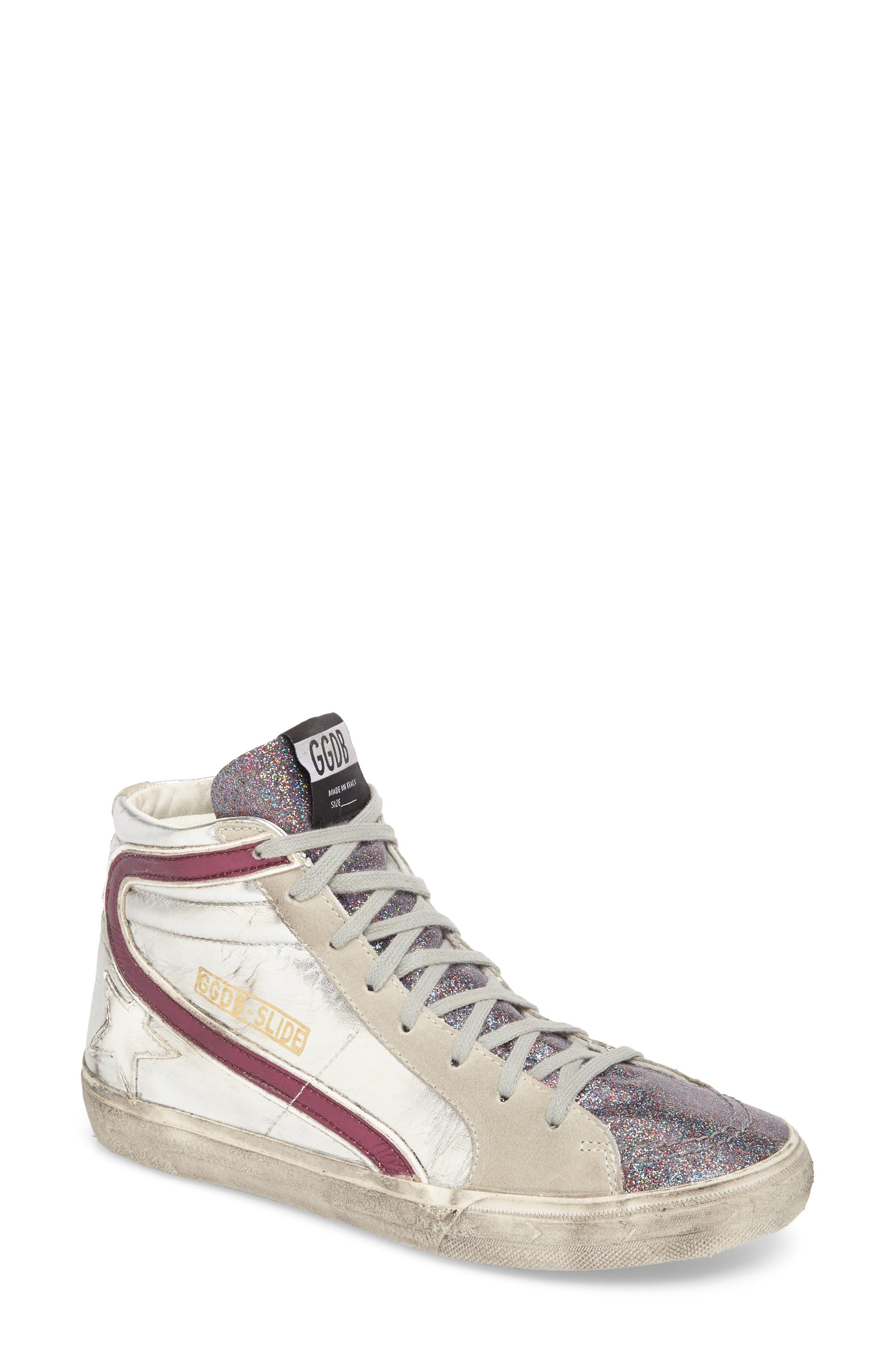 Slide High Top Sneaker,                             Main thumbnail 1, color,                             040