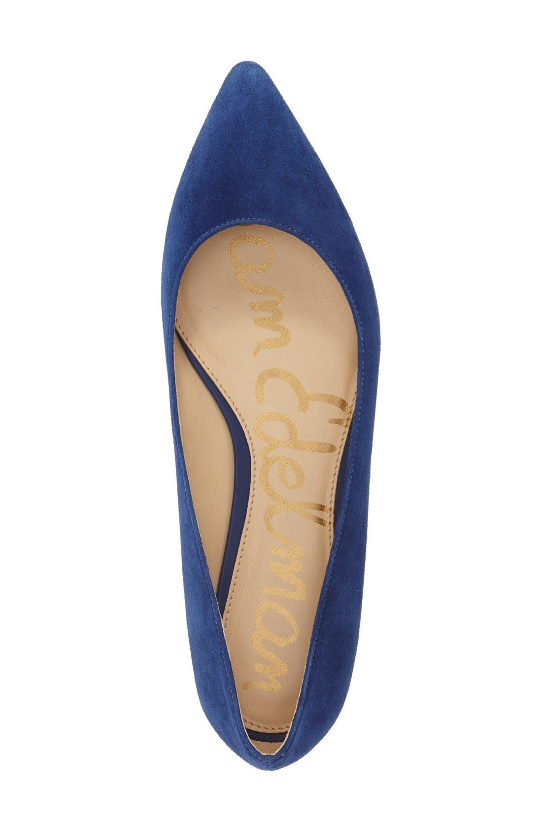 'Reyanne' Spike Rand Pointy Toe Flat,                             Alternate thumbnail 19, color,
