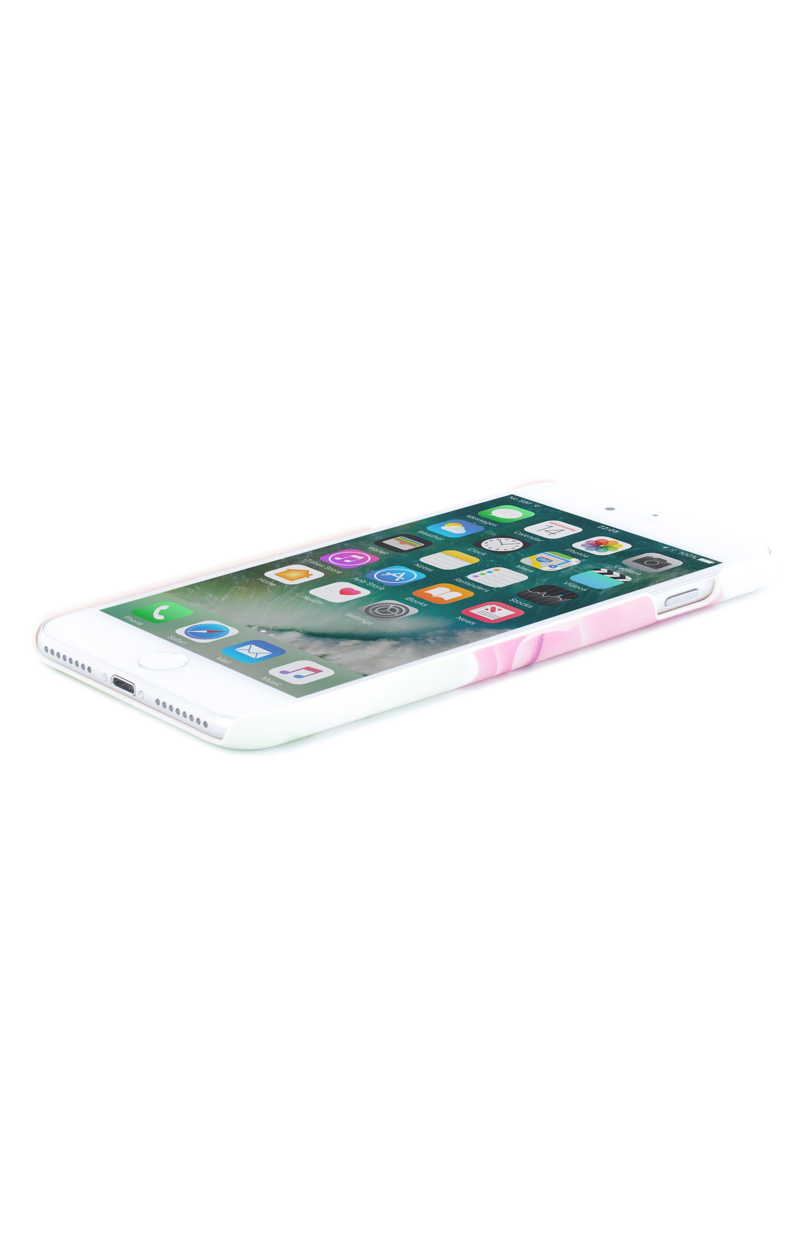 Anotei Rose iPhone 6/6s/7/8 & 6/6s/7/8 Plus Case,                             Alternate thumbnail 4, color,