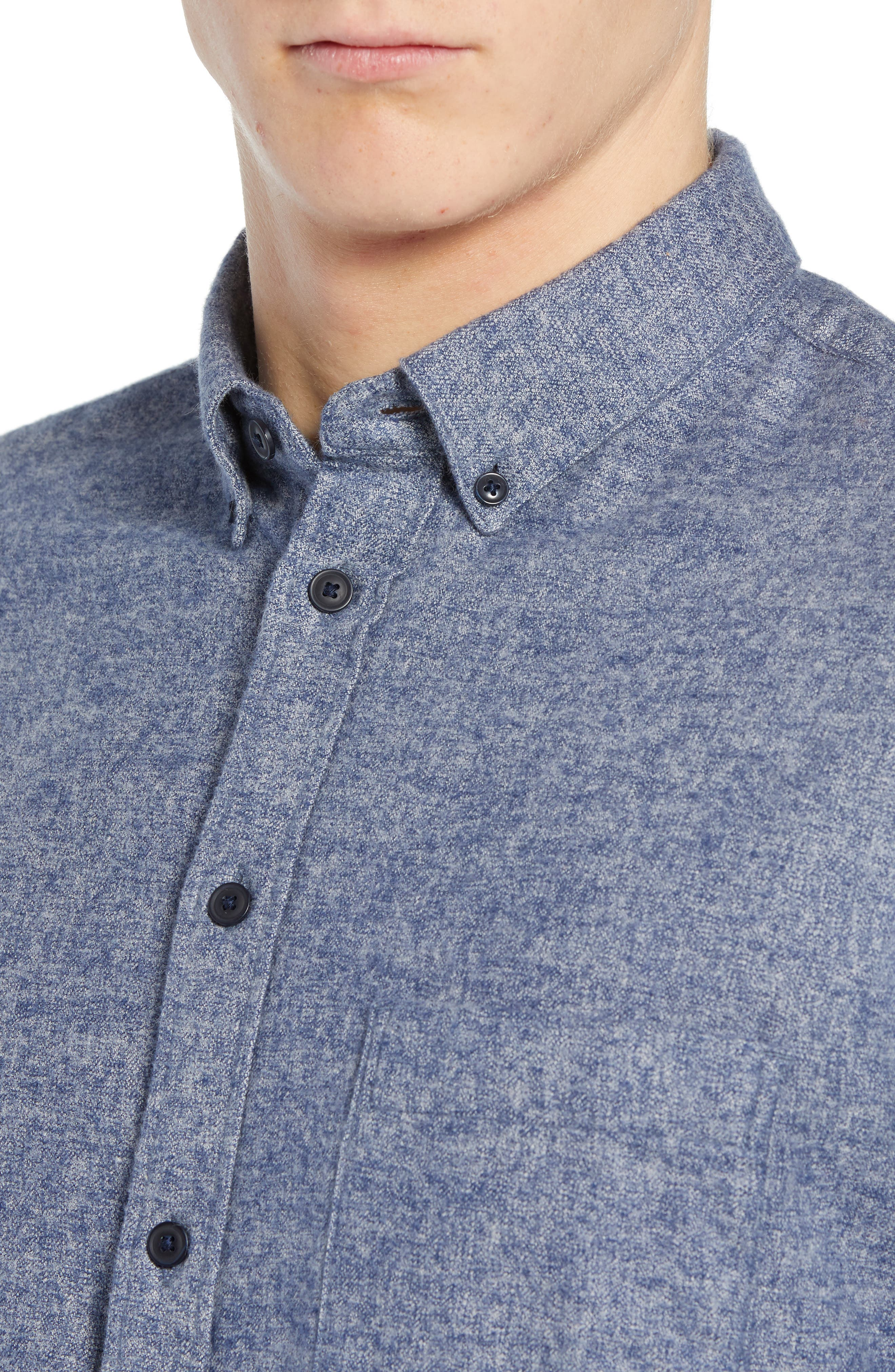 Levi's<sup>®</sup> Made & Crafted Standard Regular Fit Twill Shirt,                             Alternate thumbnail 2, color,                             400