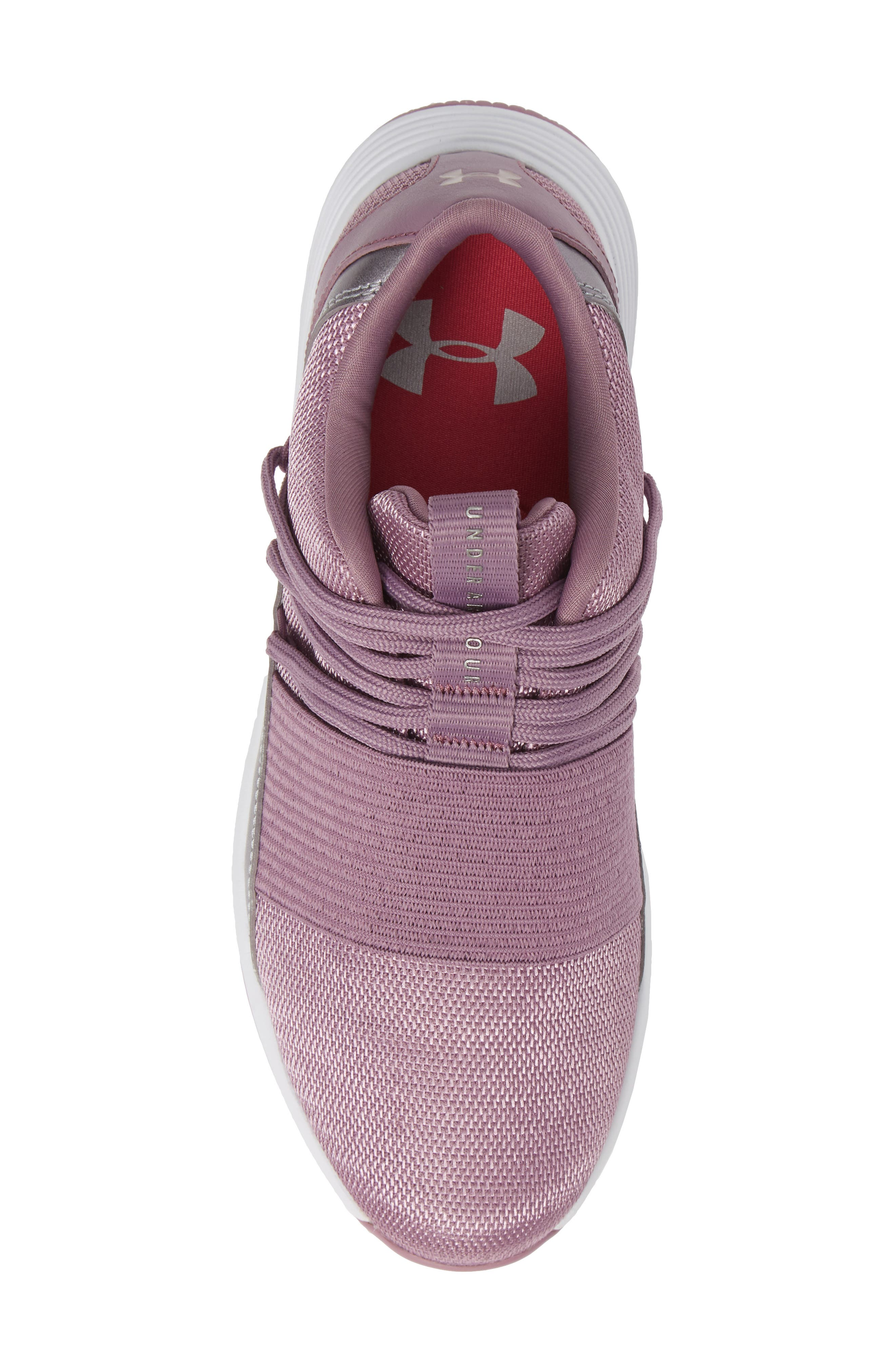 Breathe Lace X NM Sneaker,                             Alternate thumbnail 5, color,                             PURPLE PRIME/ WHITE/ WHITE