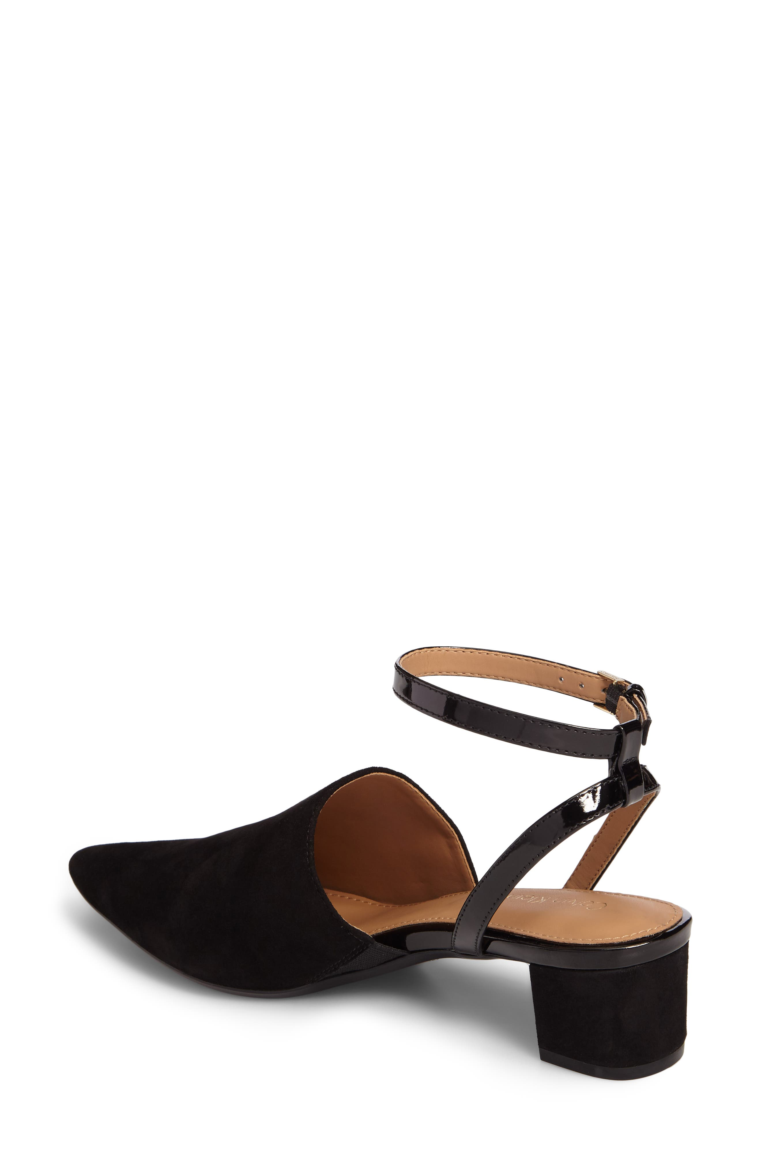 Ginetta Ankle Strap Pump,                             Alternate thumbnail 7, color,