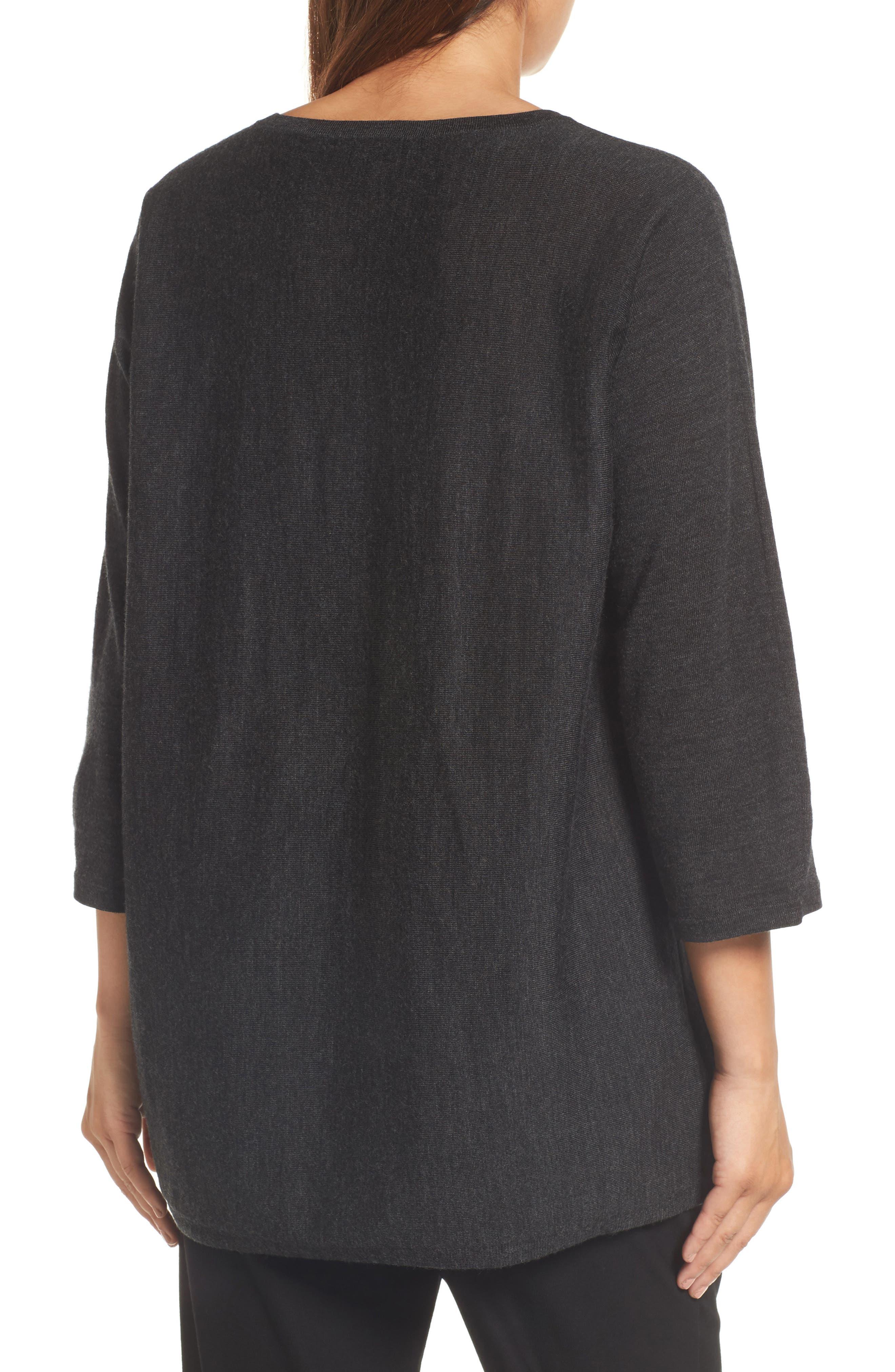 Lightweight Merino Wool Sweater,                             Alternate thumbnail 2, color,                             021