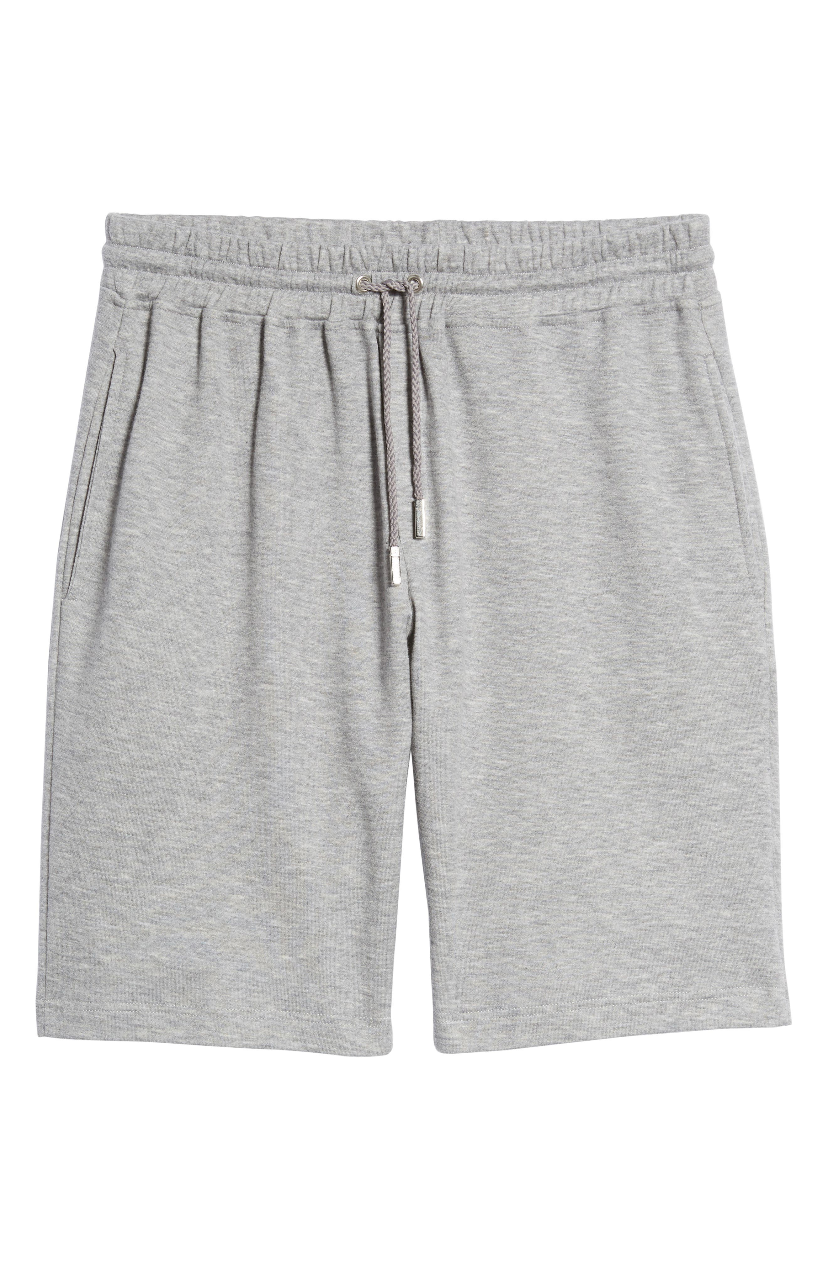 Drawstring Knit Shorts,                             Alternate thumbnail 6, color,                             020