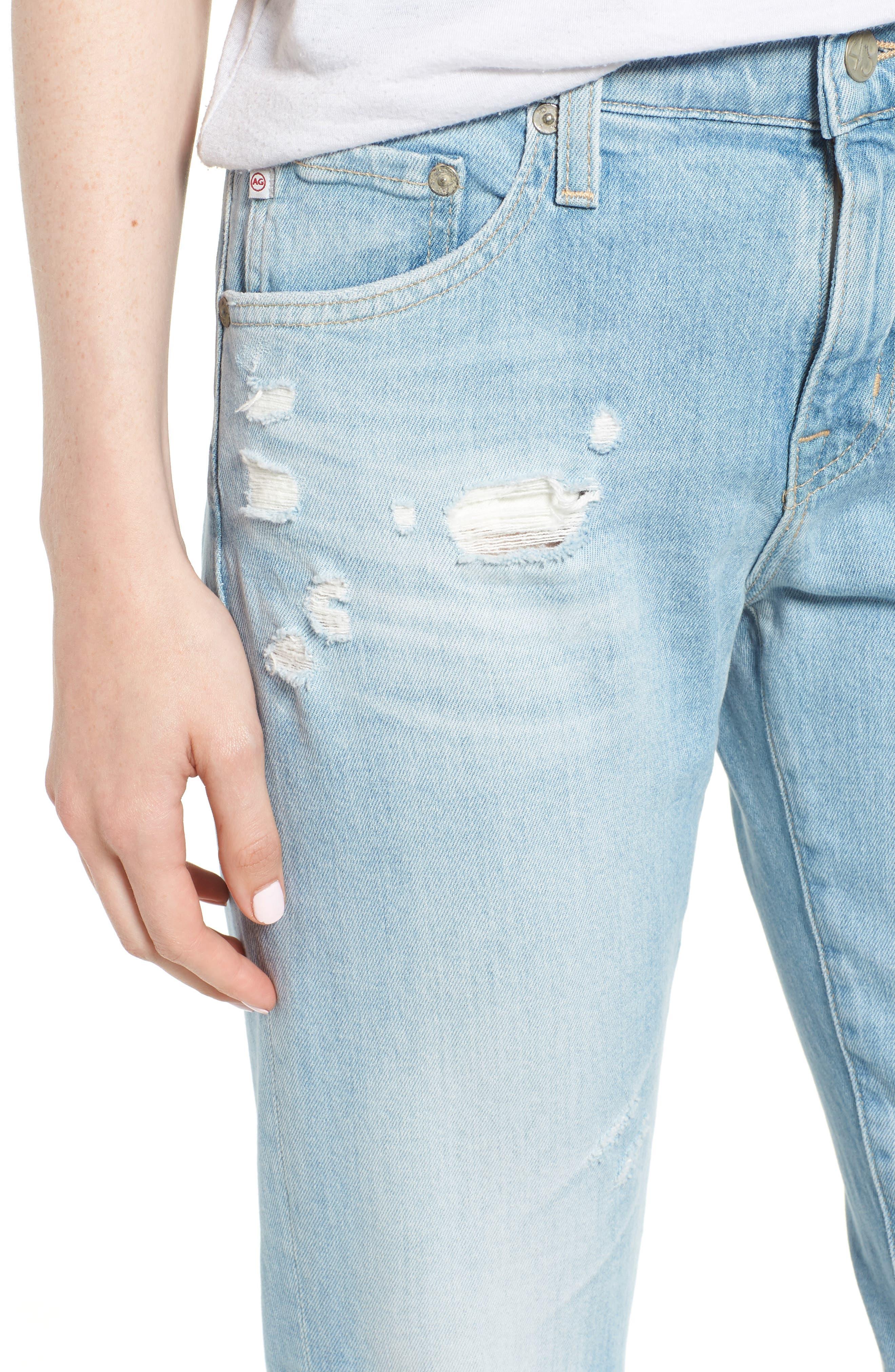 The Ex-Boyfriend Crop Slim Jeans,                             Alternate thumbnail 4, color,                             426