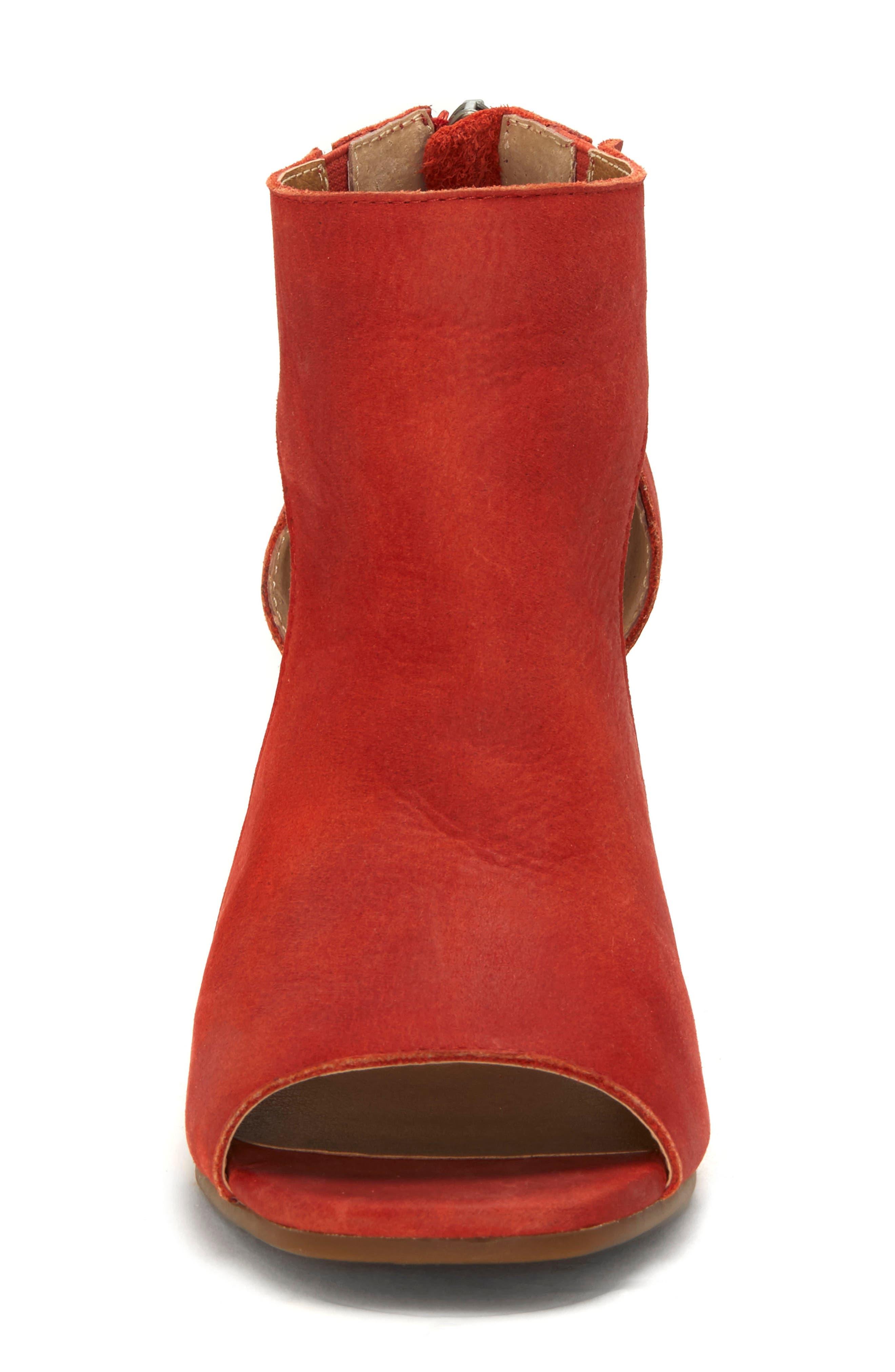 Udine Shield Sandal,                             Alternate thumbnail 4, color,                             TANDORI LEATHER