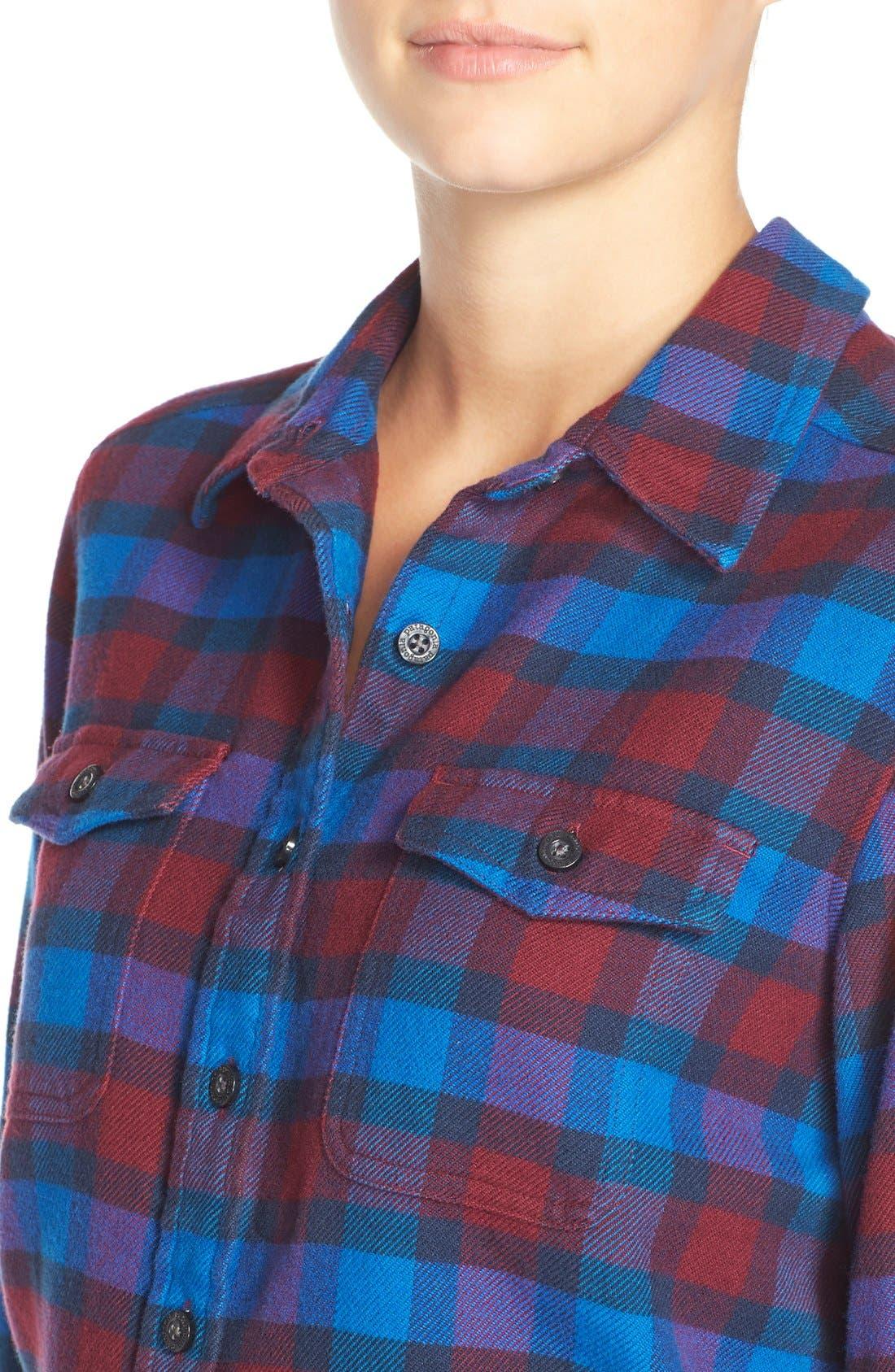 'Fjord' Flannel Shirt,                             Alternate thumbnail 71, color,