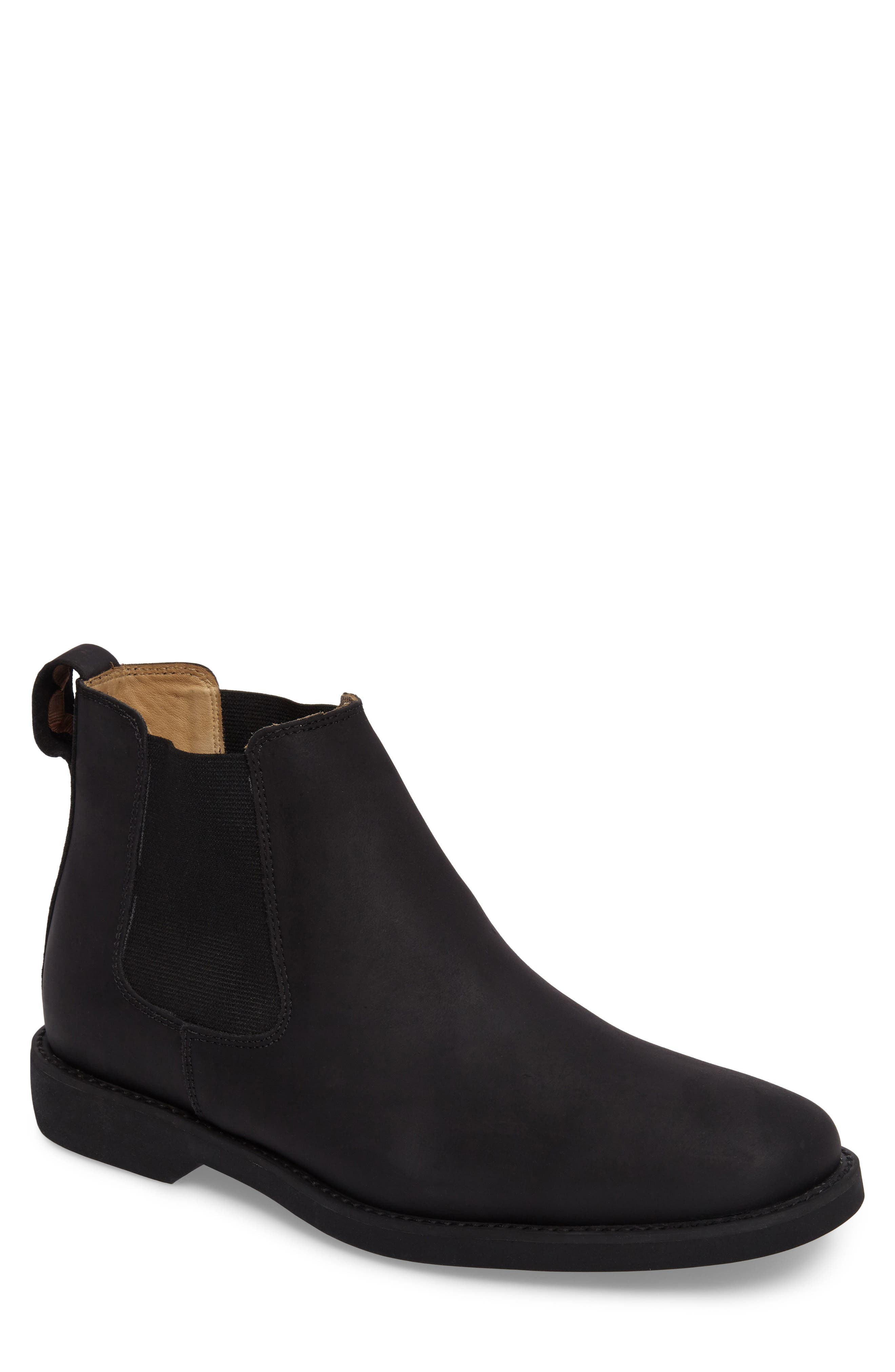 Cardoso Chelsea Boot,                         Main,                         color, MUSTANG BLACK