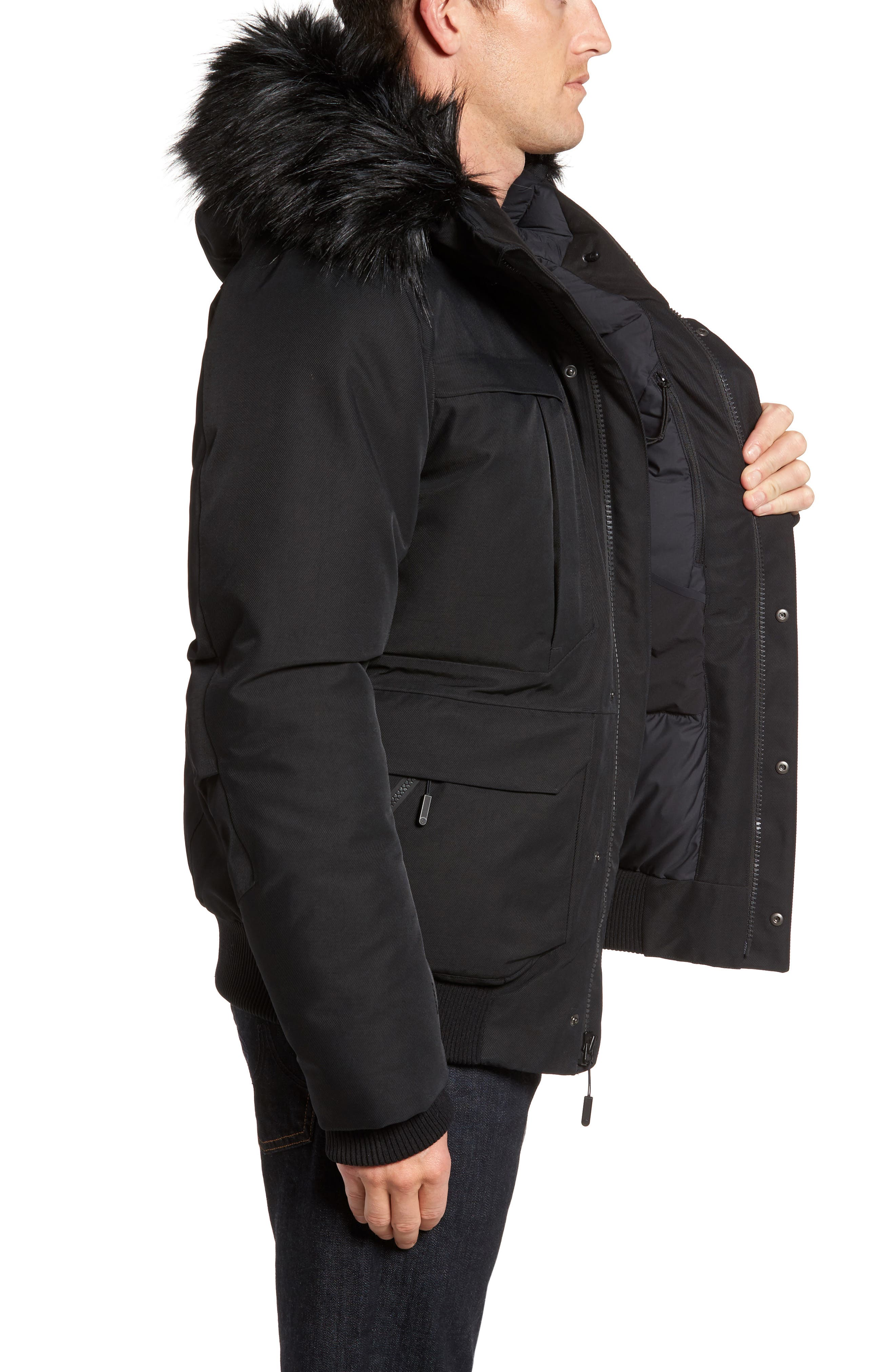 Cryos Expedition Gore-Tex<sup>®</sup> Bomber Jacket,                             Alternate thumbnail 7, color,