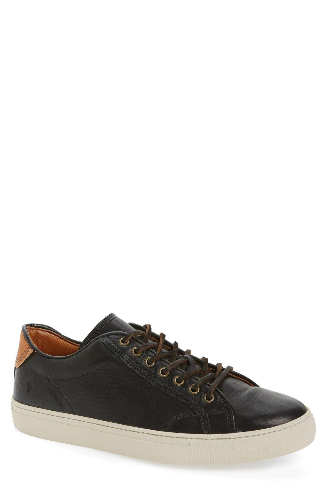 Walker Low Top Sneaker,                             Main thumbnail 1, color,                             001