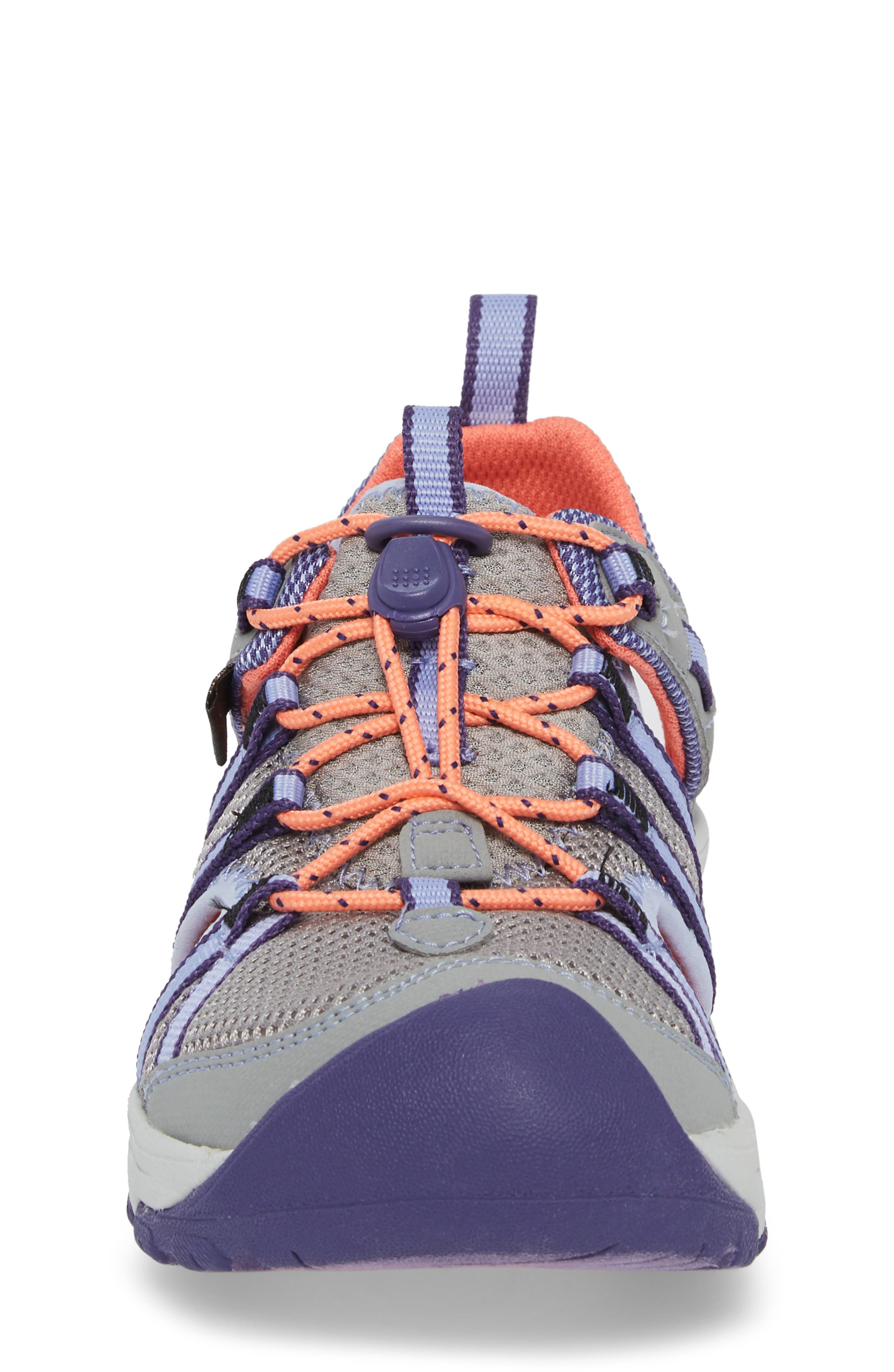Manatee Sport Sandal,                             Alternate thumbnail 4, color,                             WILD DOVE