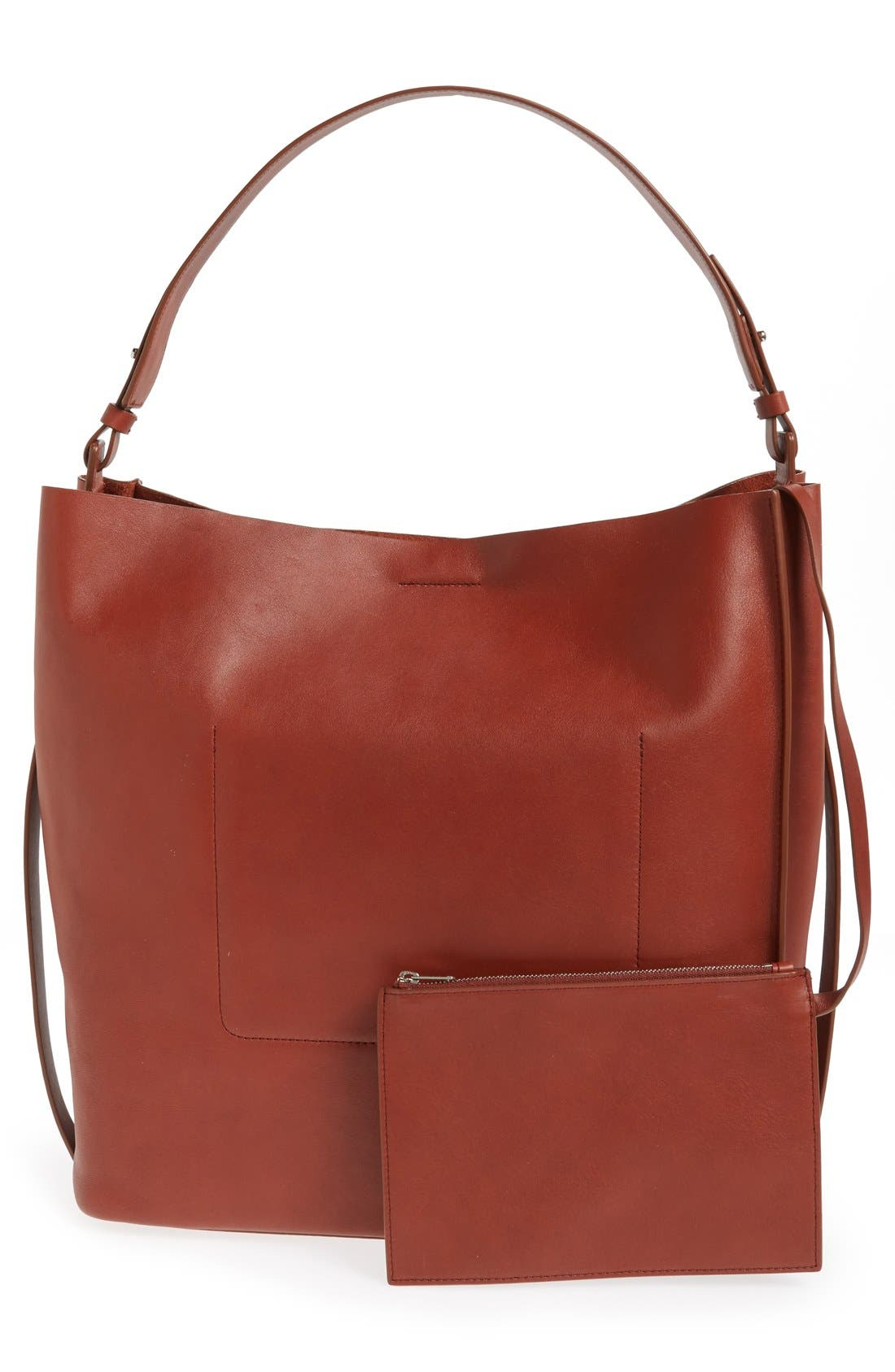'Paradise North/South' Calfskin Leather Tote,                             Alternate thumbnail 26, color,