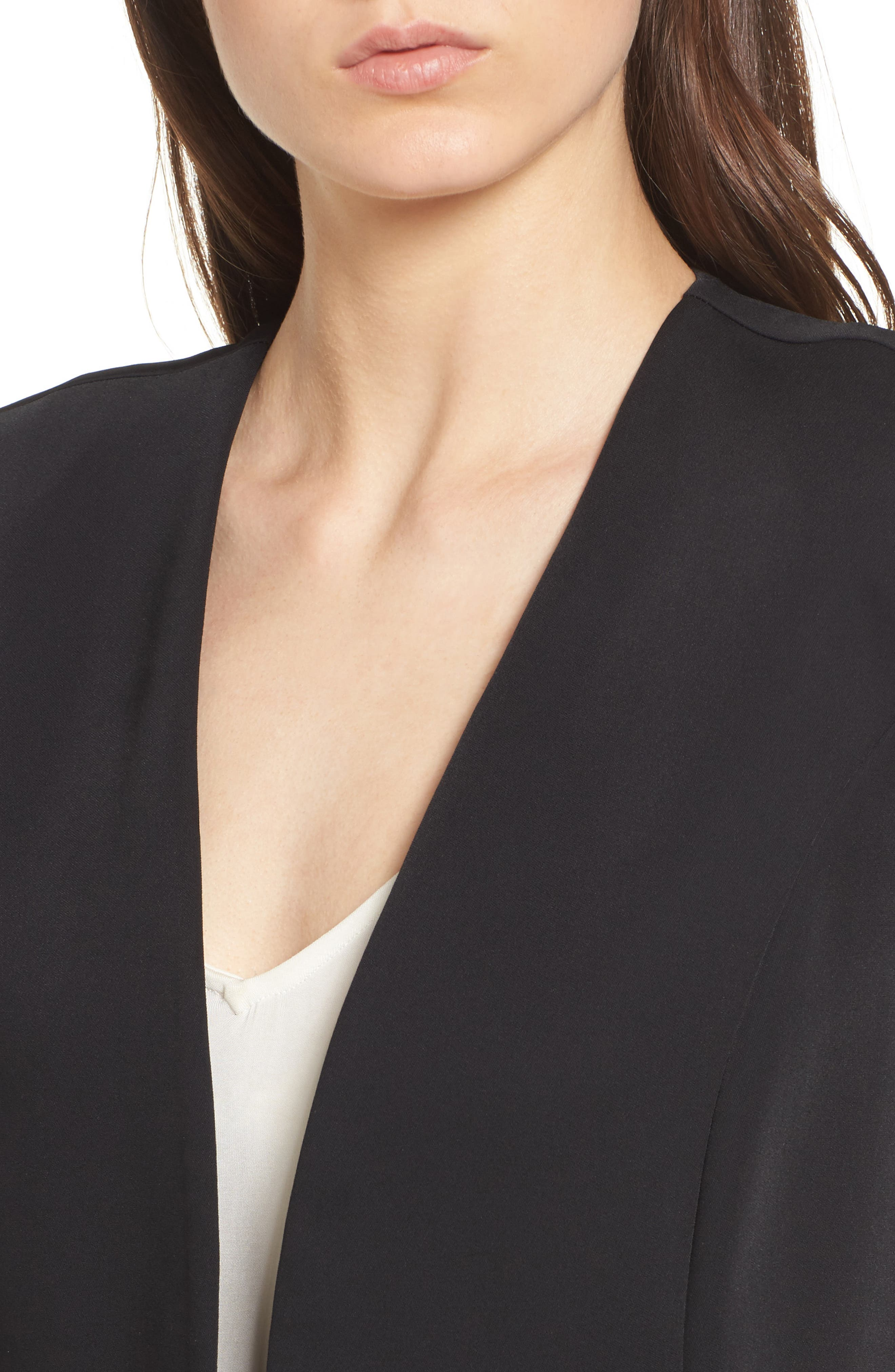 Ruched Sleeve Blazer,                             Alternate thumbnail 9, color,
