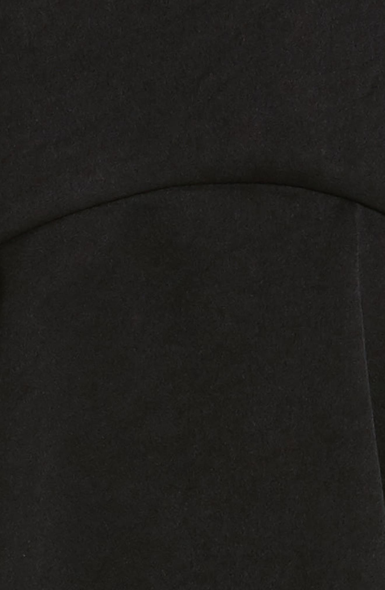 Saloon Ruffle Skirt,                             Alternate thumbnail 5, color,                             001