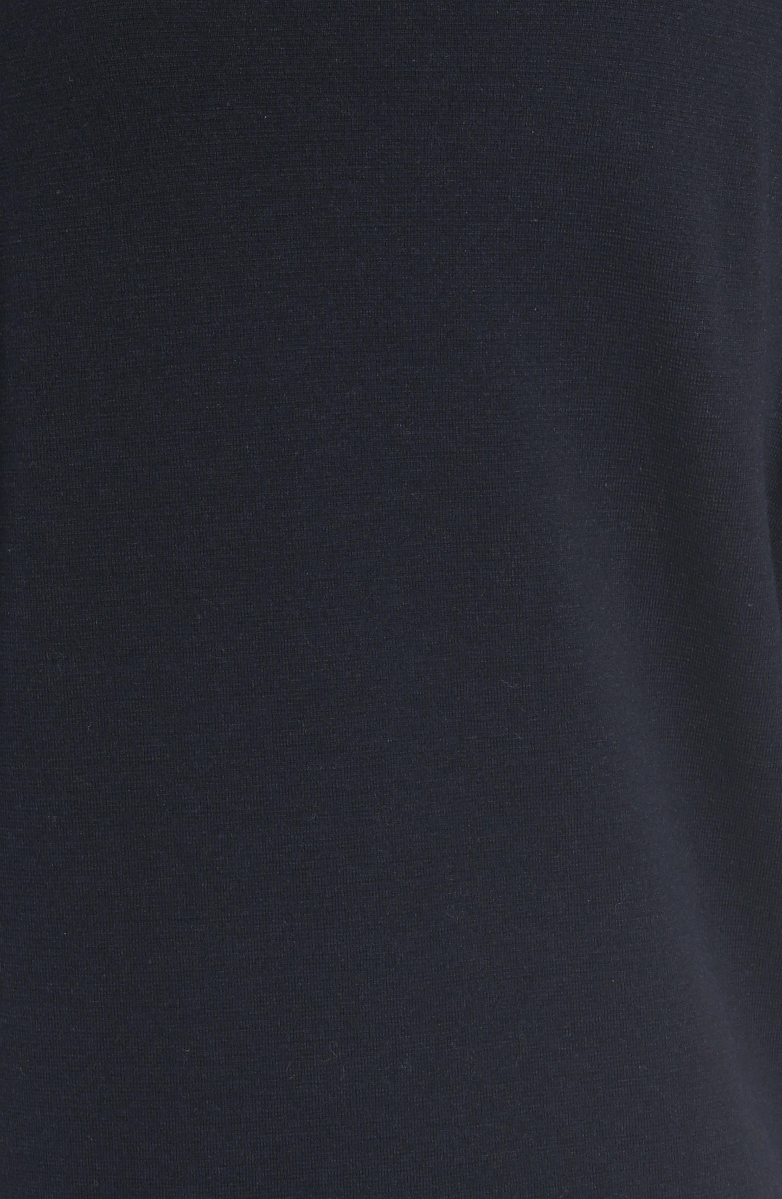 Laced Grommet Wool Dress,                             Alternate thumbnail 5, color,                             410