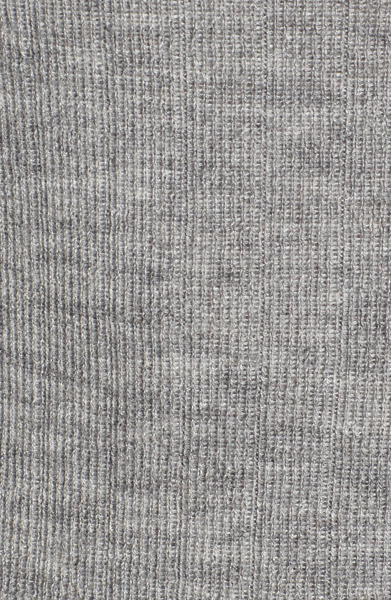 Ribbed Cashmere Sweater,                             Alternate thumbnail 5, color,                             030