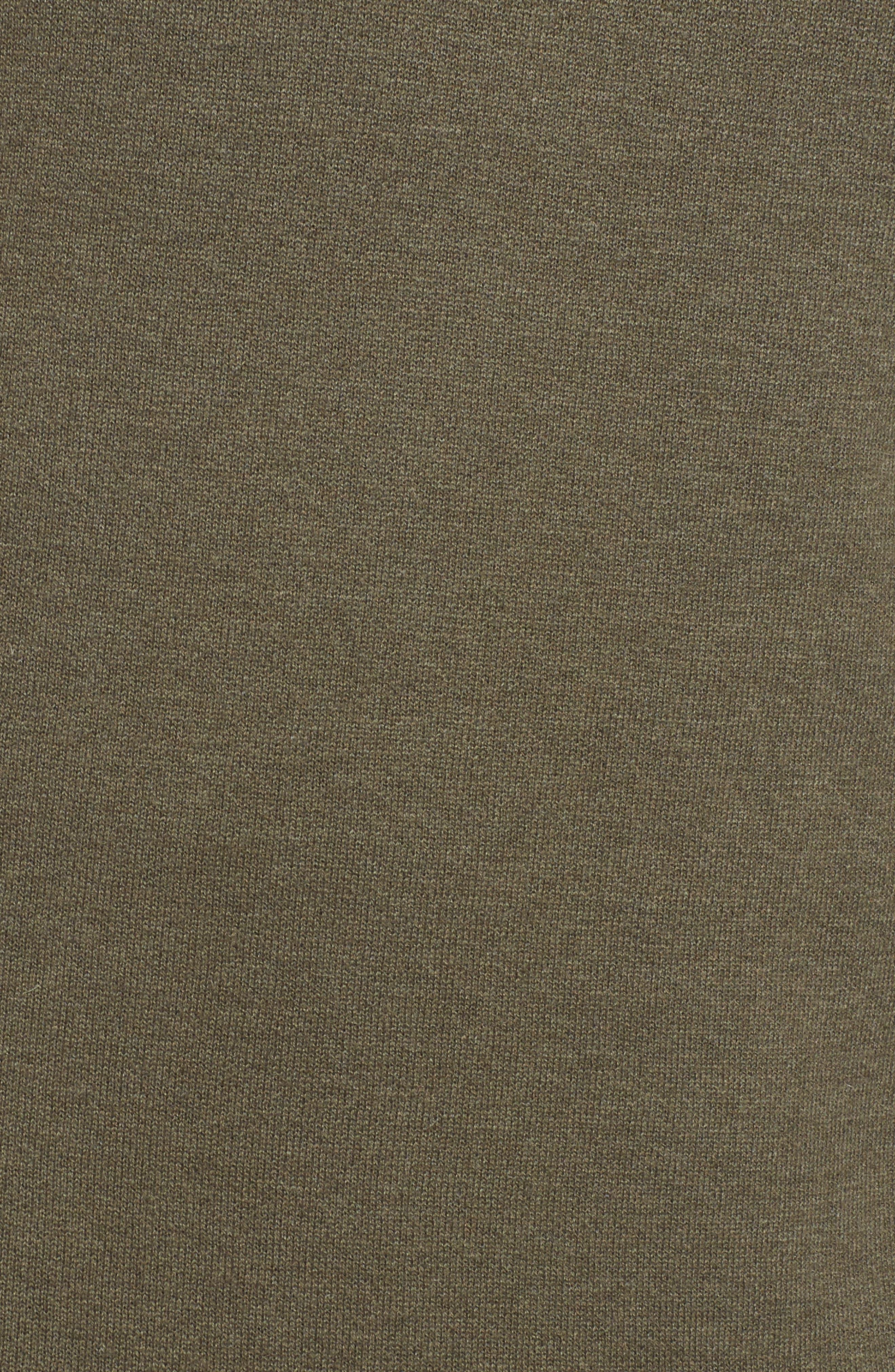 Ruffle Hem Cashmere Blend Tunic,                             Alternate thumbnail 5, color,                             315