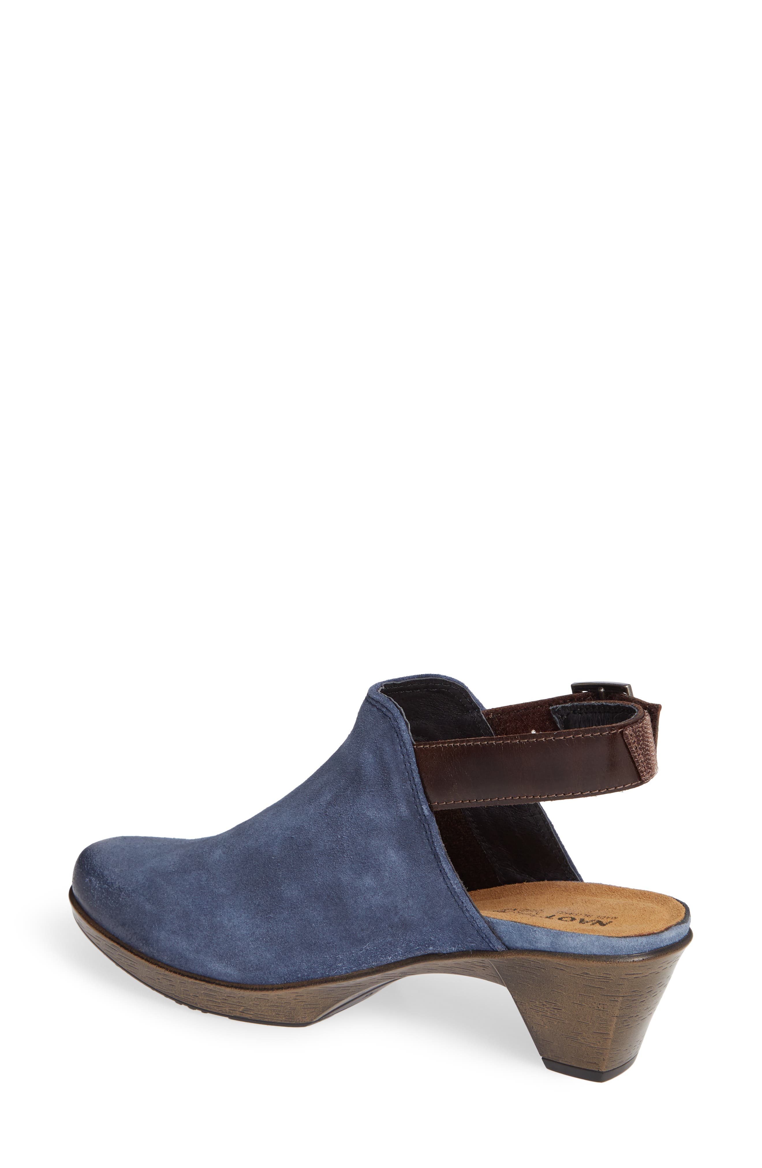 Upgrade Bootie,                             Alternate thumbnail 2, color,                             BLUE/ WALNUT SUEDE/ LEATHER